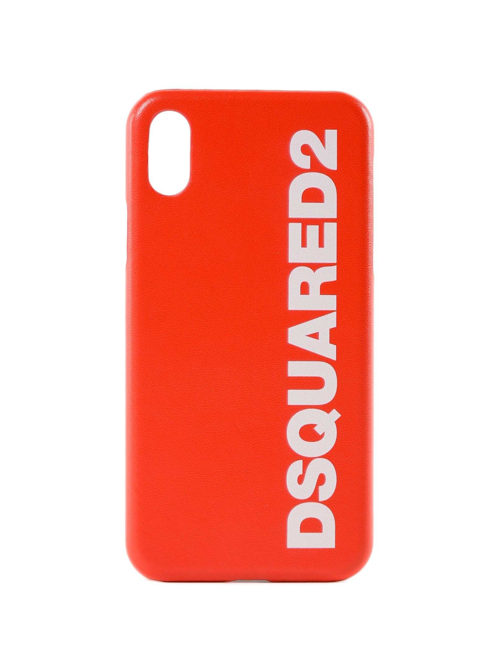 Dsquared2 Iphone Logo Print Case