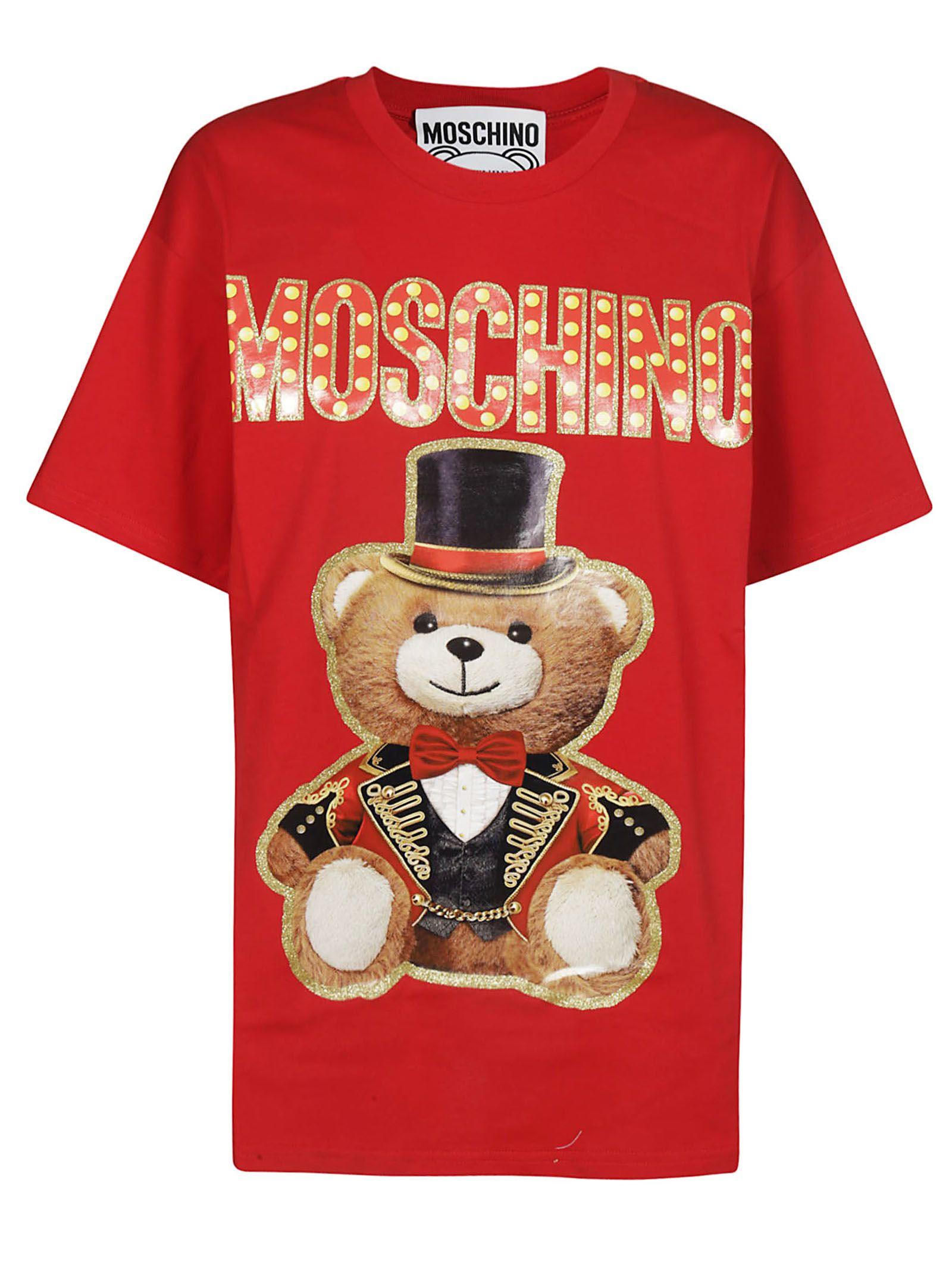 Moschino Oversized Circus Teddy T-shirt