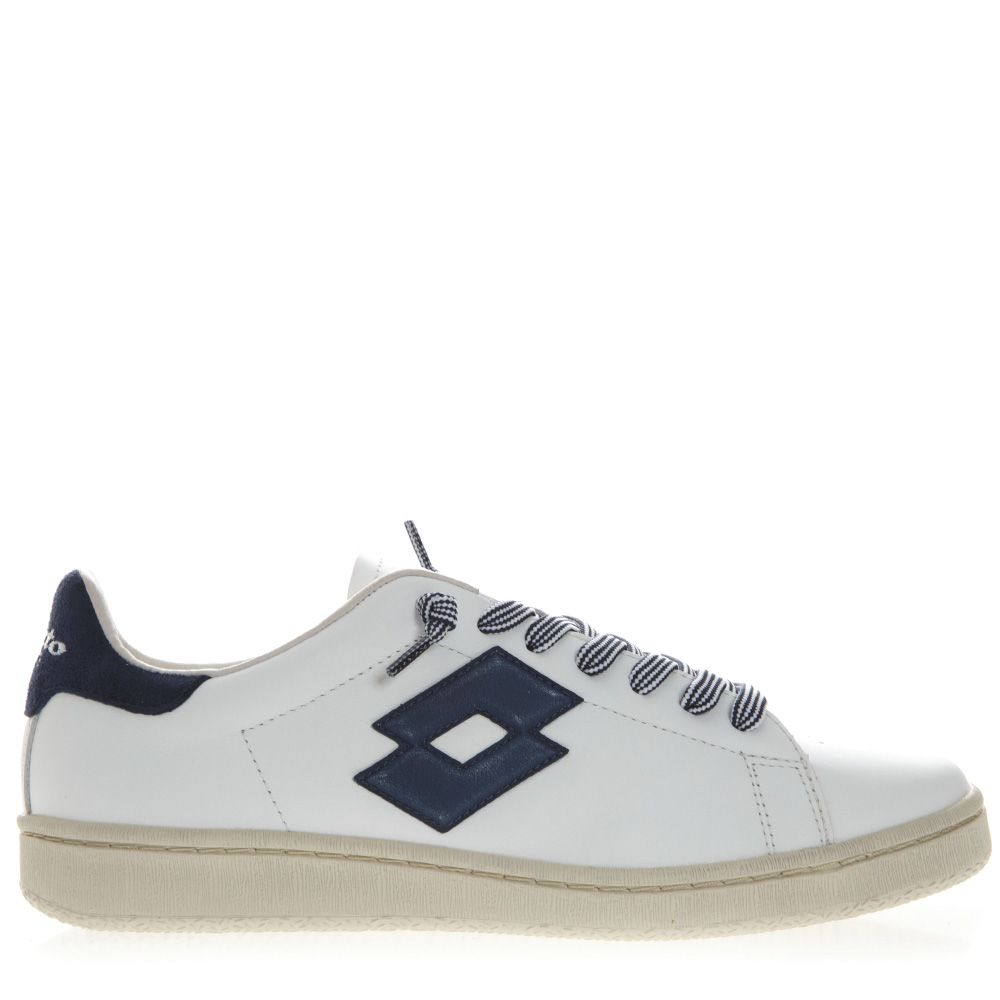 Lotto Leggenda Autograph W White Leather & Suede Sneakers