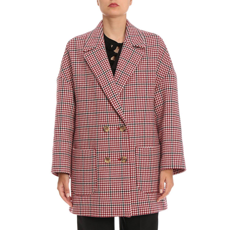 Red Valentino Coat Coat Women Red Valentino