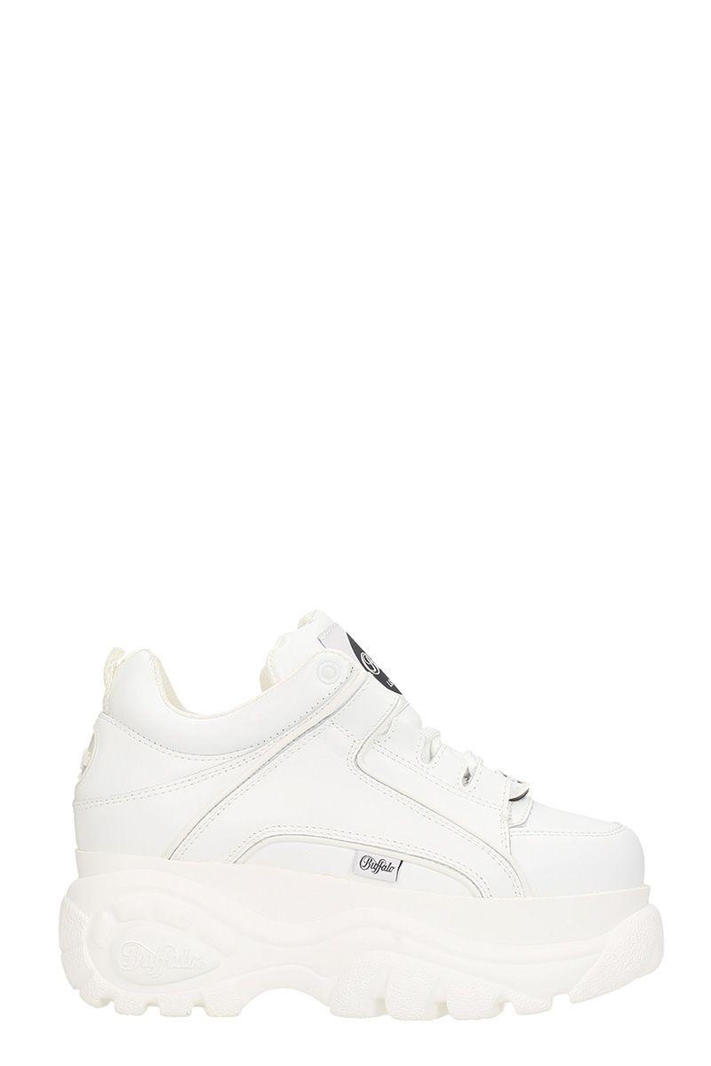 buffalo -  Low White Classic Platform Sneakers