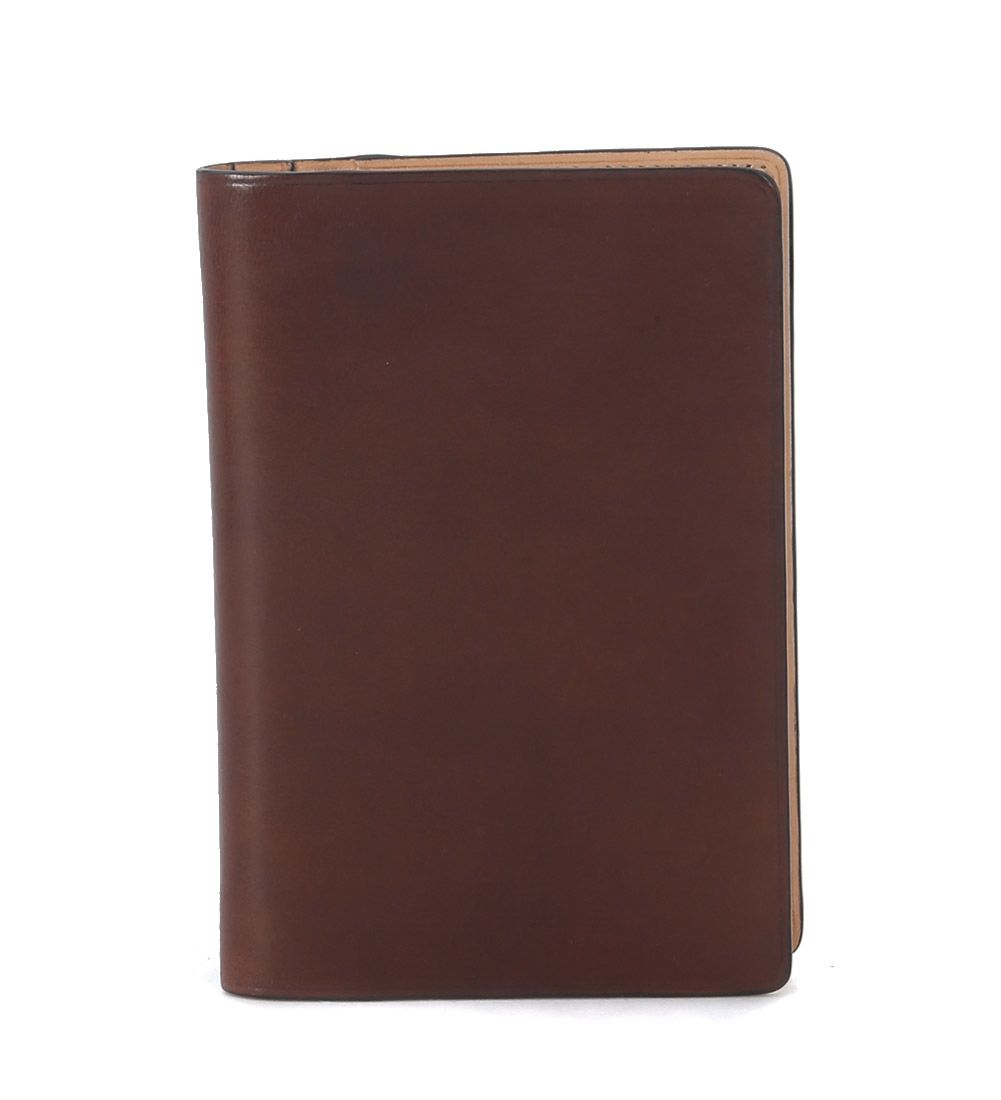 Il Bussetto Hazelnut Tuscan Leather Passport Holder