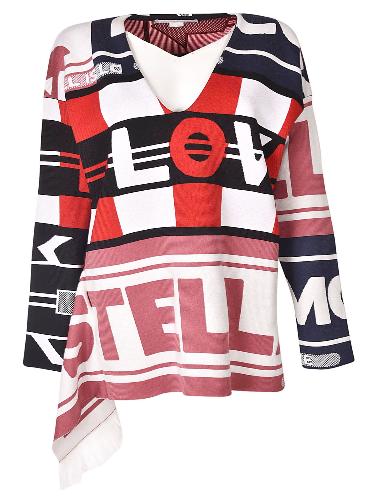 Stella McCartney All Is Love Patchwork Sweater