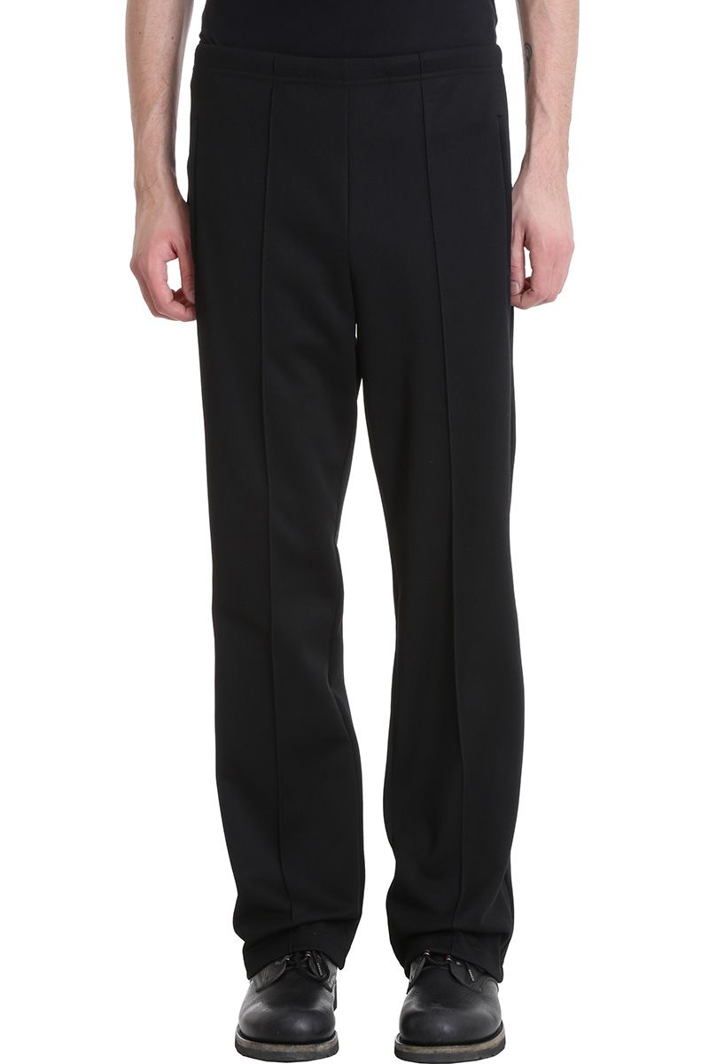 Maison Margiela Black Wool Pants