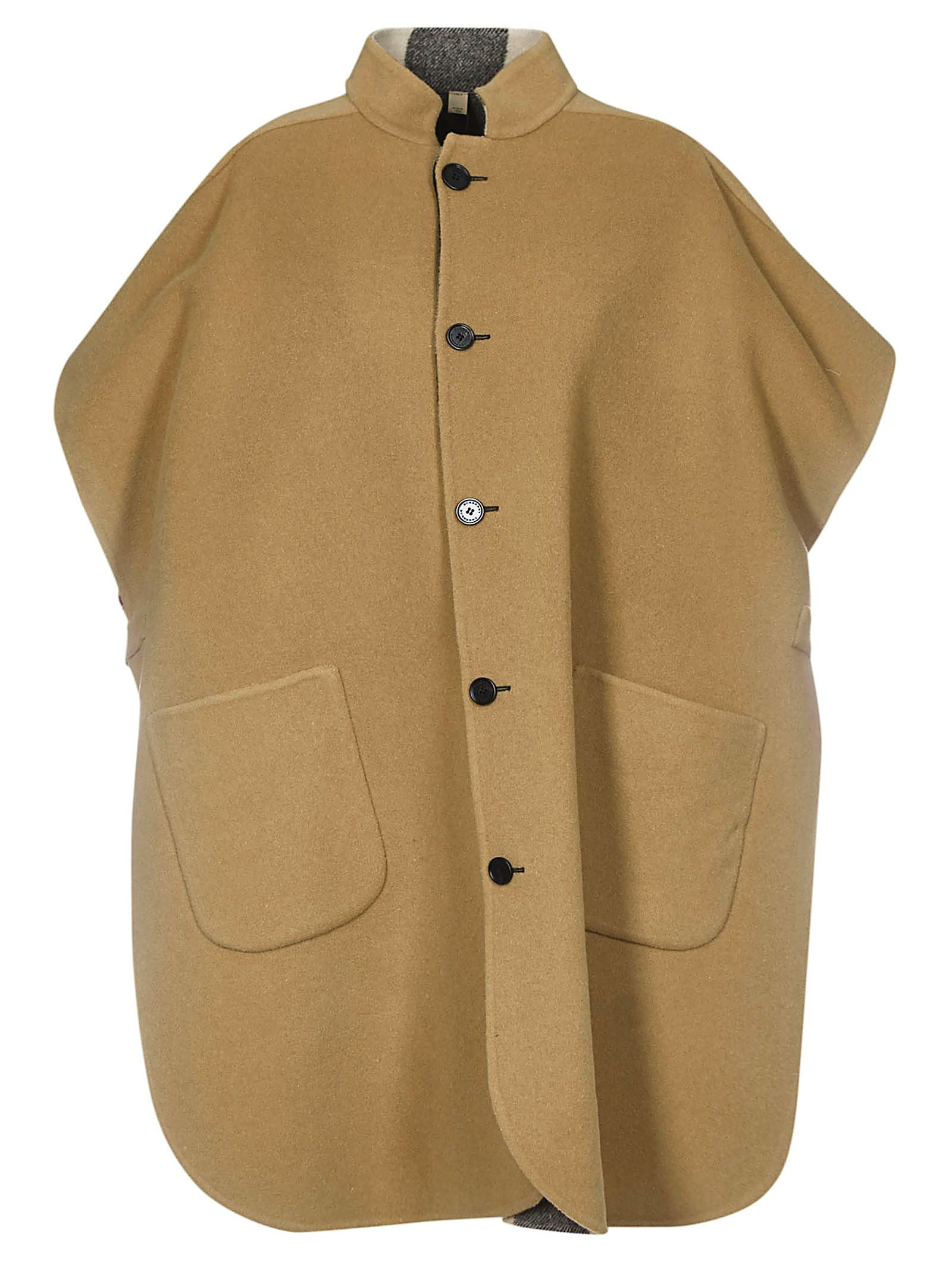 Burberry Buttoned Coat