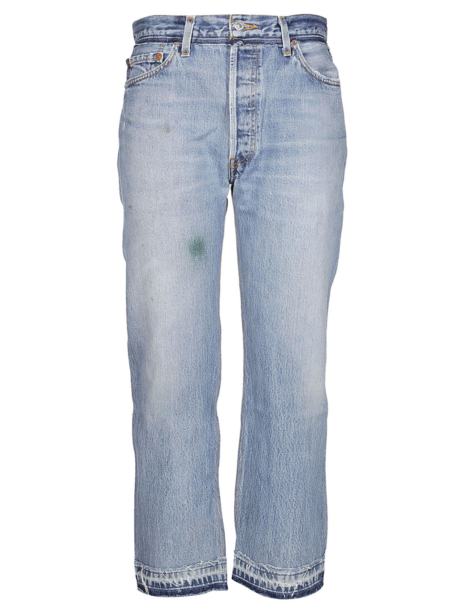 Re/done Stone Pipe Jeans