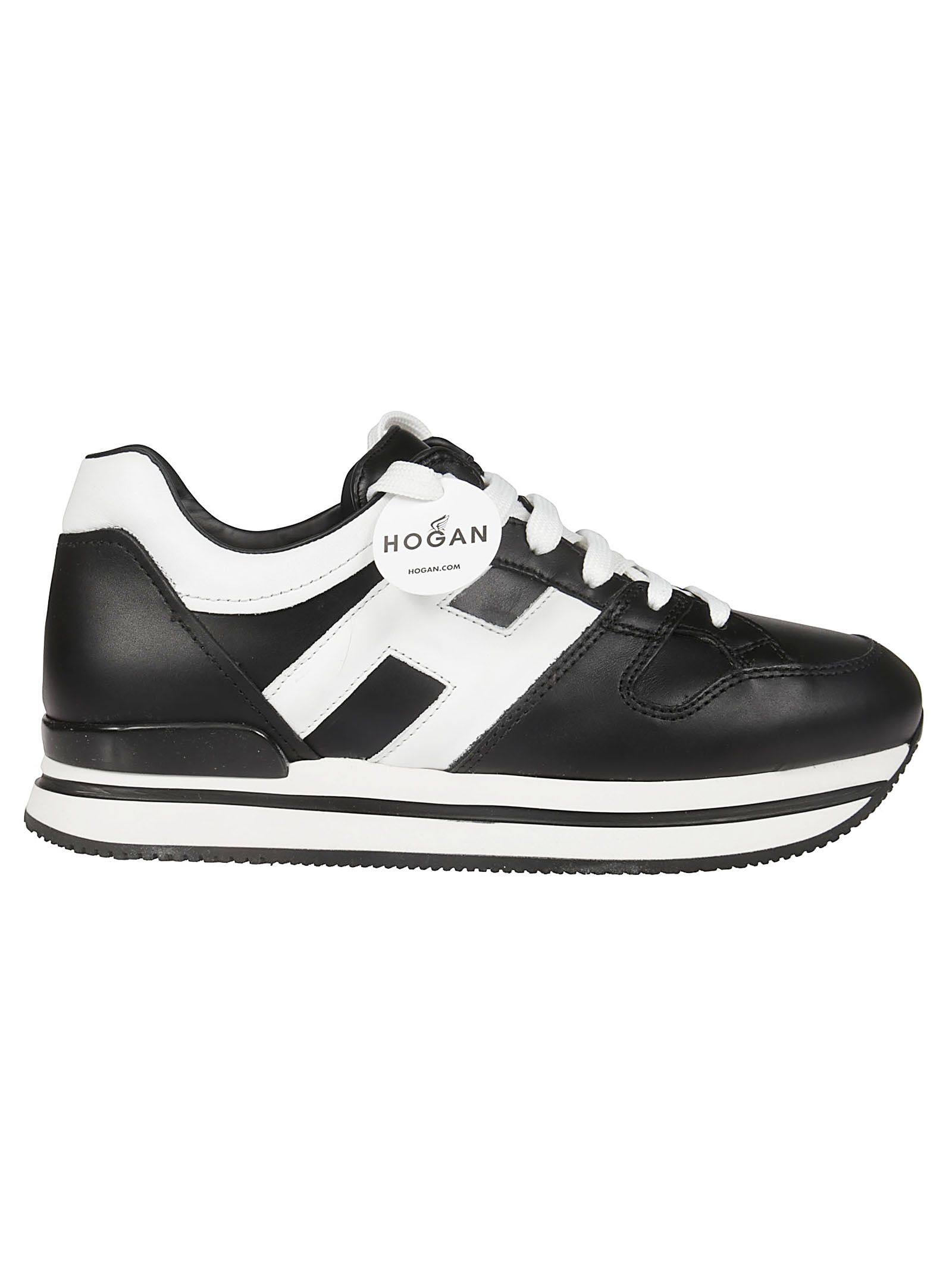 Hogan Paneled Platform Sneakers