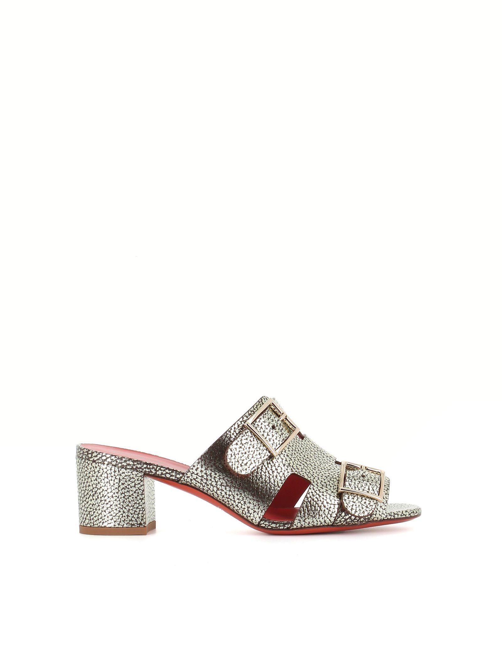 Santoni Buckle Sandals