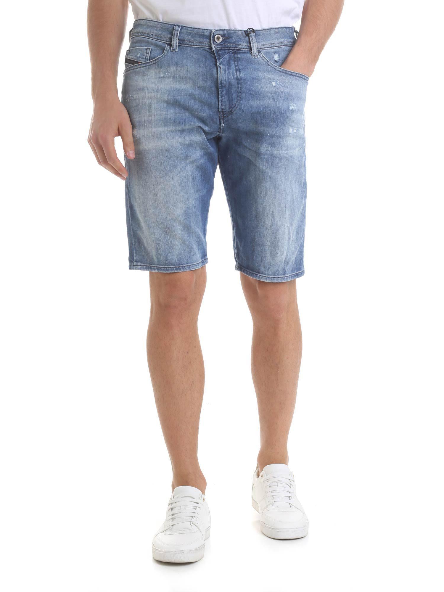 Diesel Blue Thoshort Shorts