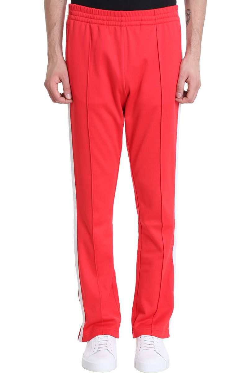 Calvin Klein Jeans Red Cotton Pants