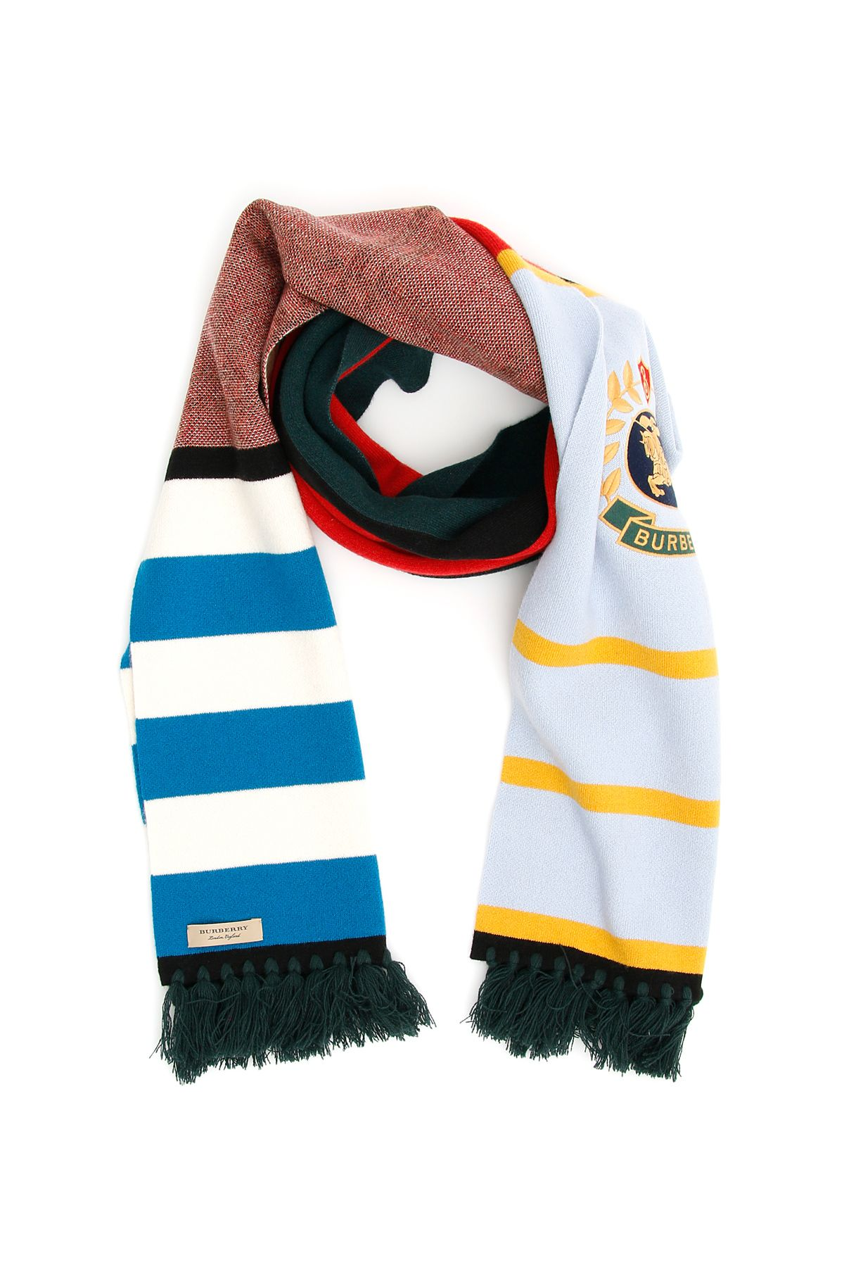 Burberry Crest Football Scarf