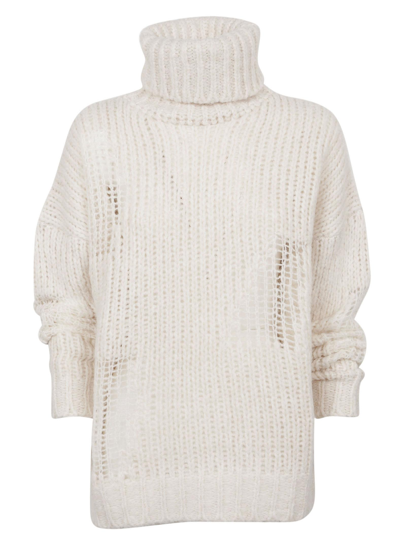 Iro Distressed Knitted Sweater