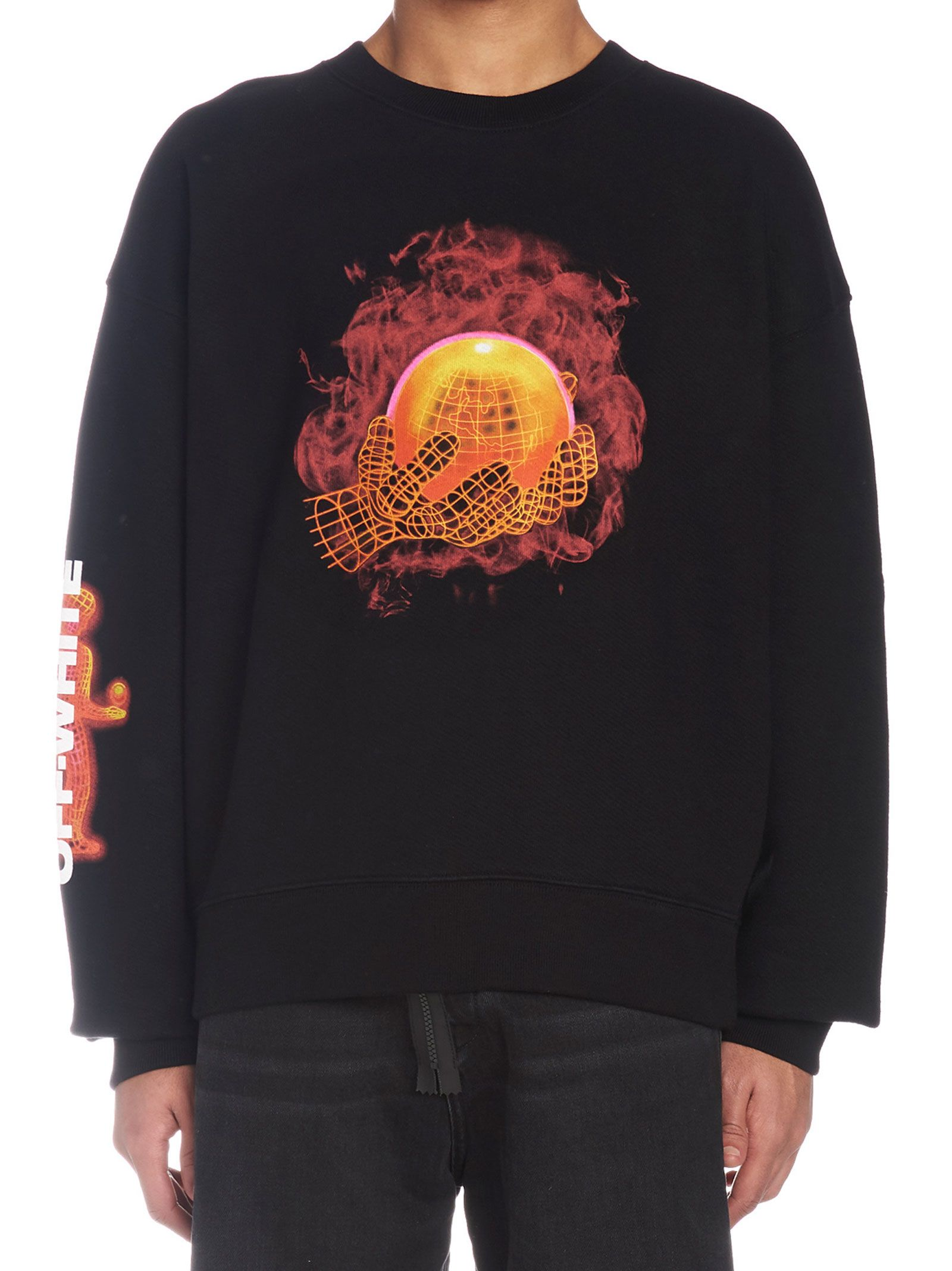 Off-white 'hands And Planet' Sweatshirt