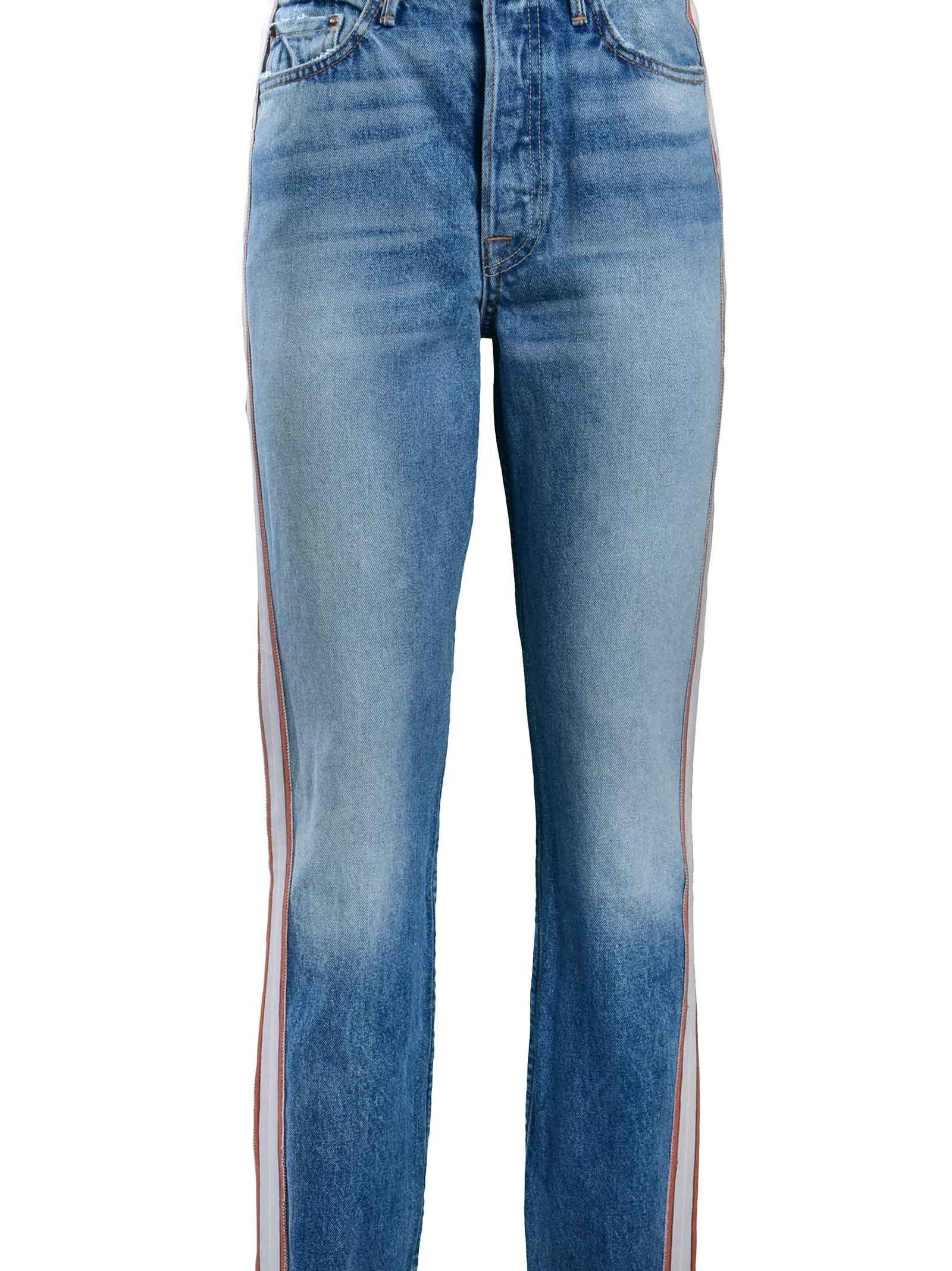 Grlfrnd Straight Leg Jeans