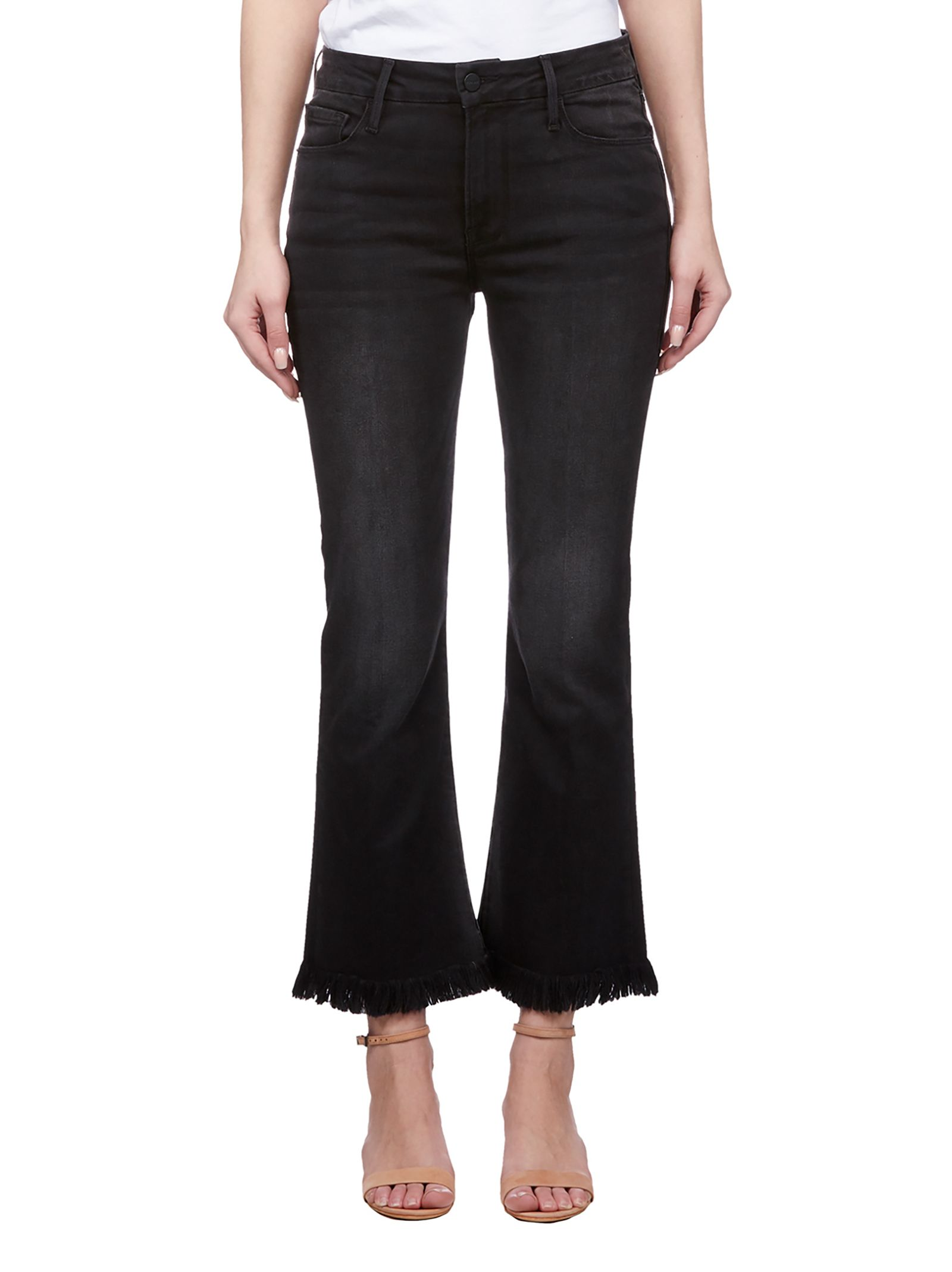 Frame Cropped Bootcut Jeans