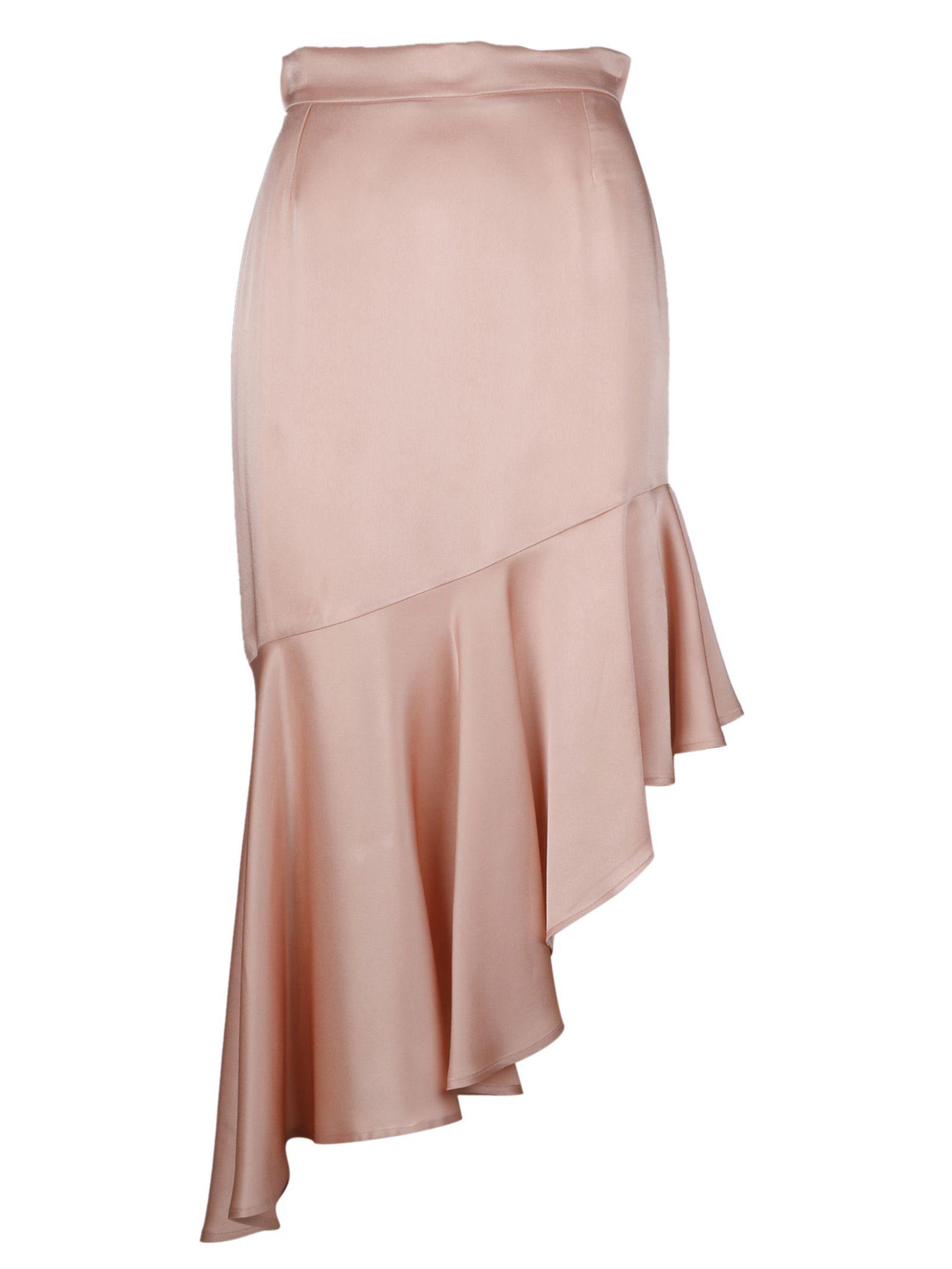Semicouture Asymmetric Skirt