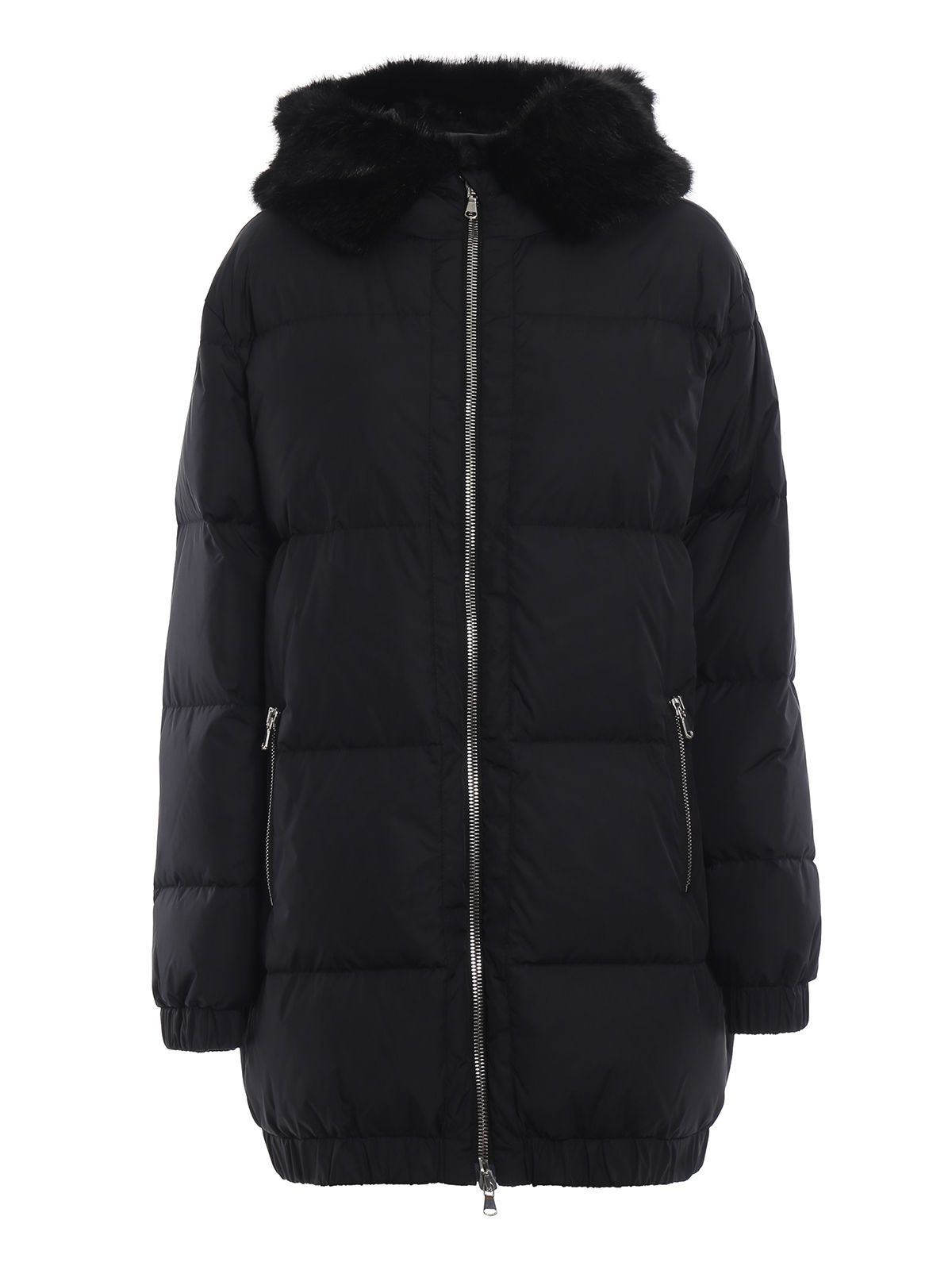 Moschino Faux Fur Padded Jacket