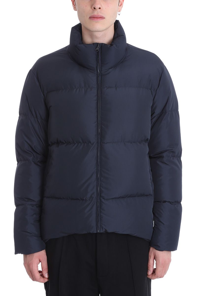 Bacon Clothing Poliester Blue Down Jacket
