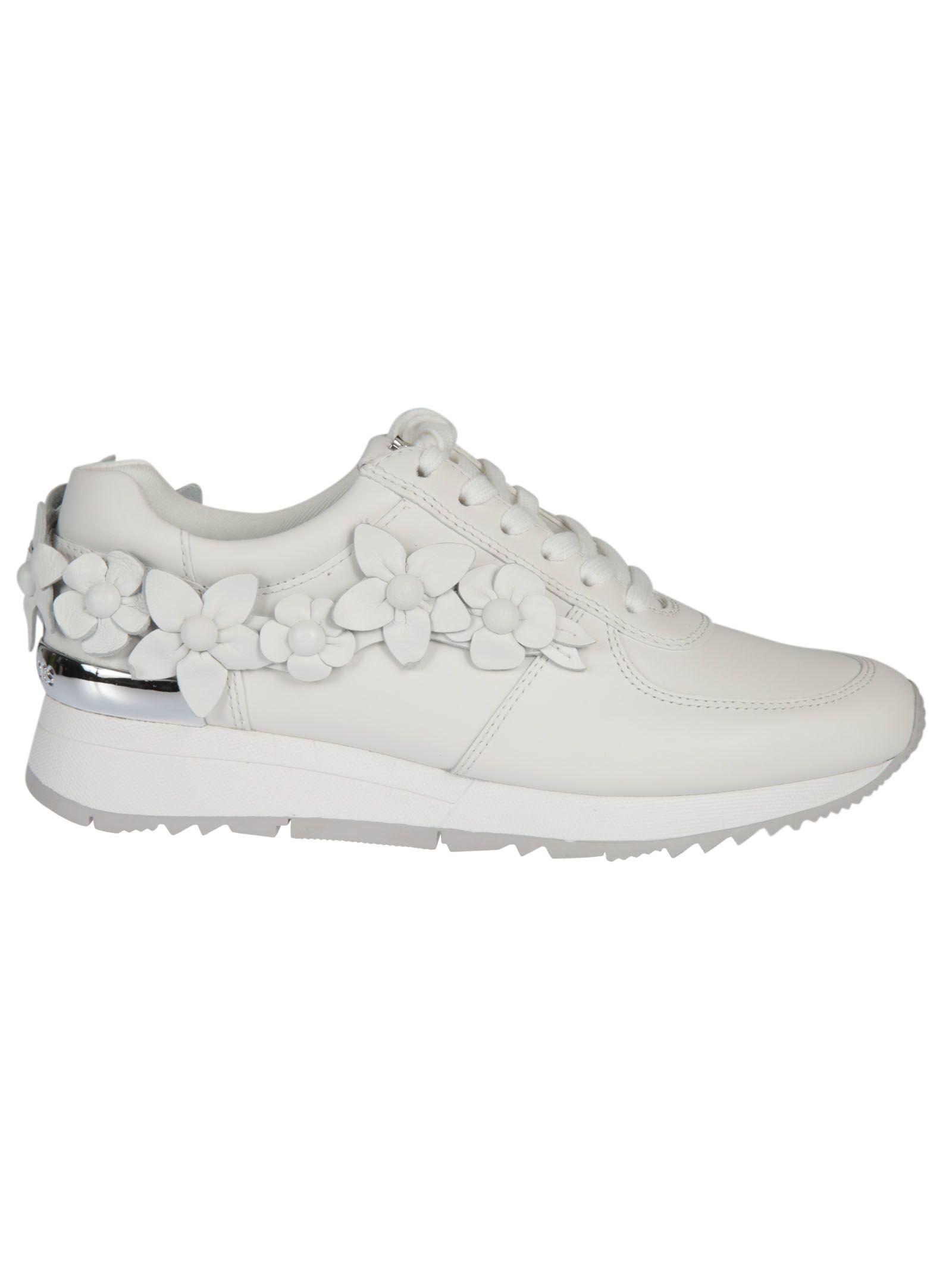 Michael Kors Floral Applique Sneakers