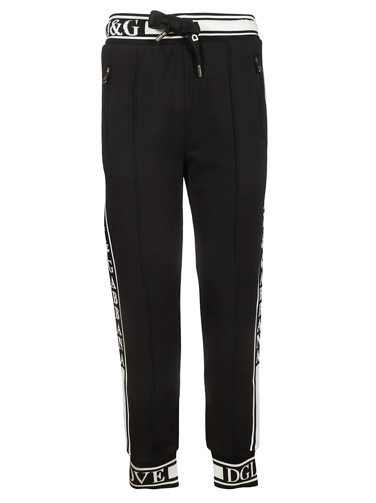 Dolce & Gabbana Side Stripe Track Pants