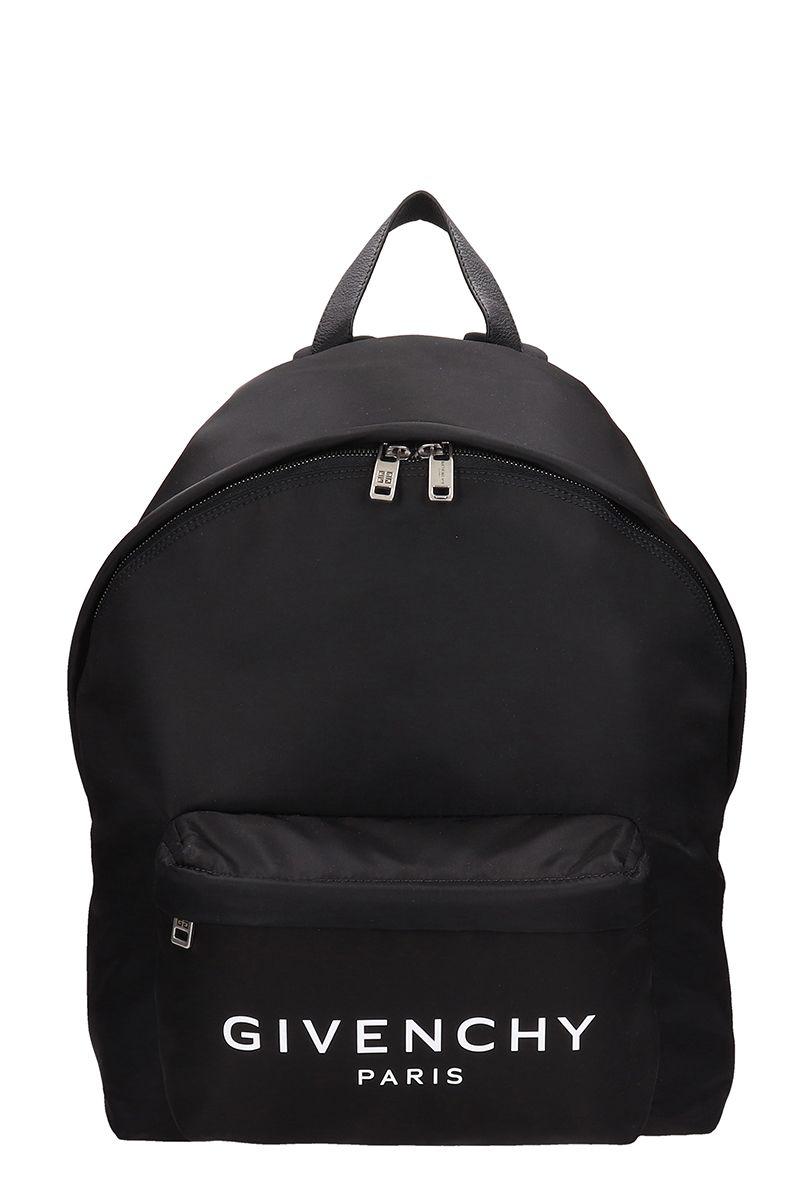 Givenchy Urban Black Nylon Backpack