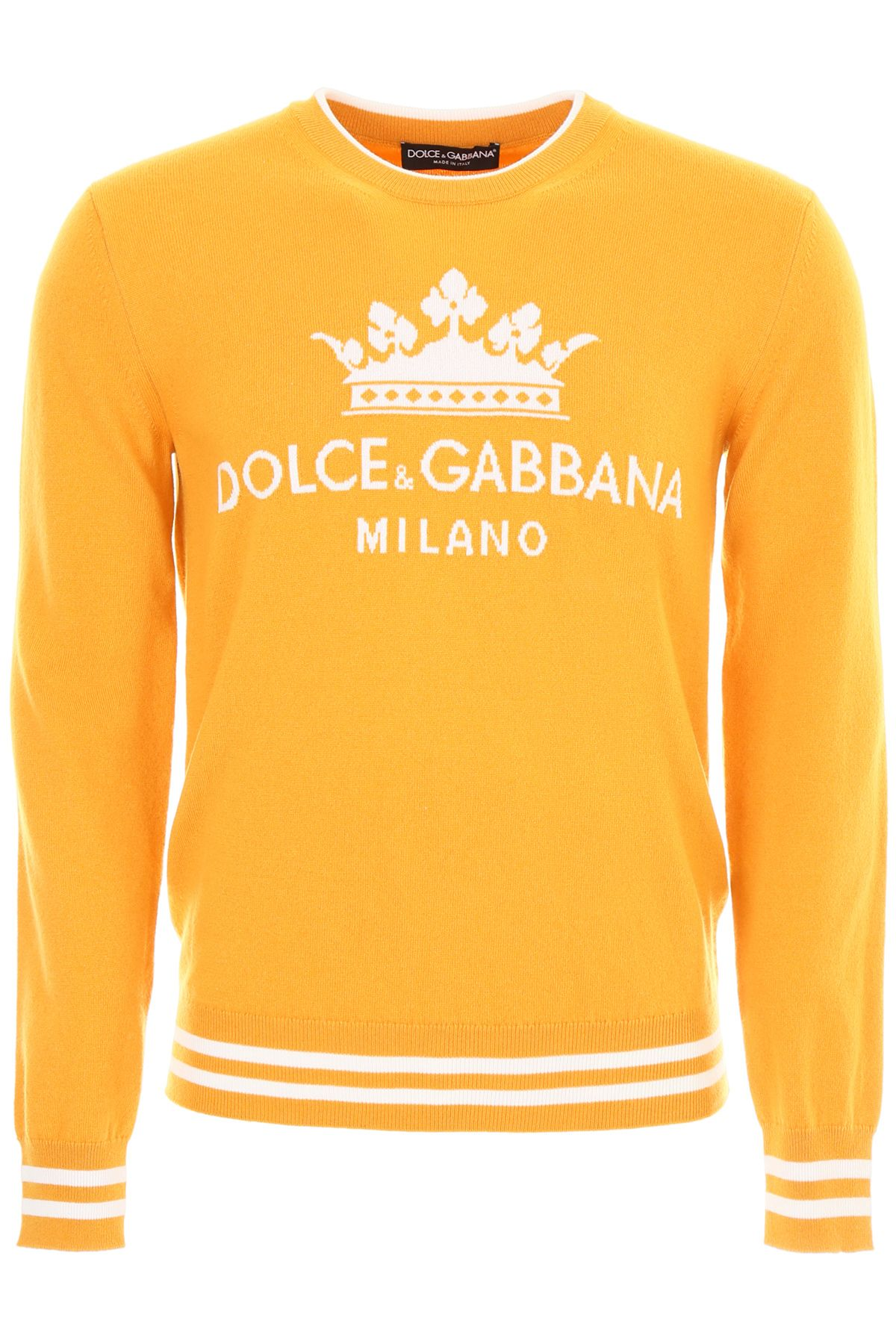 Dolce & Gabbana Crown Intarsia Pullover