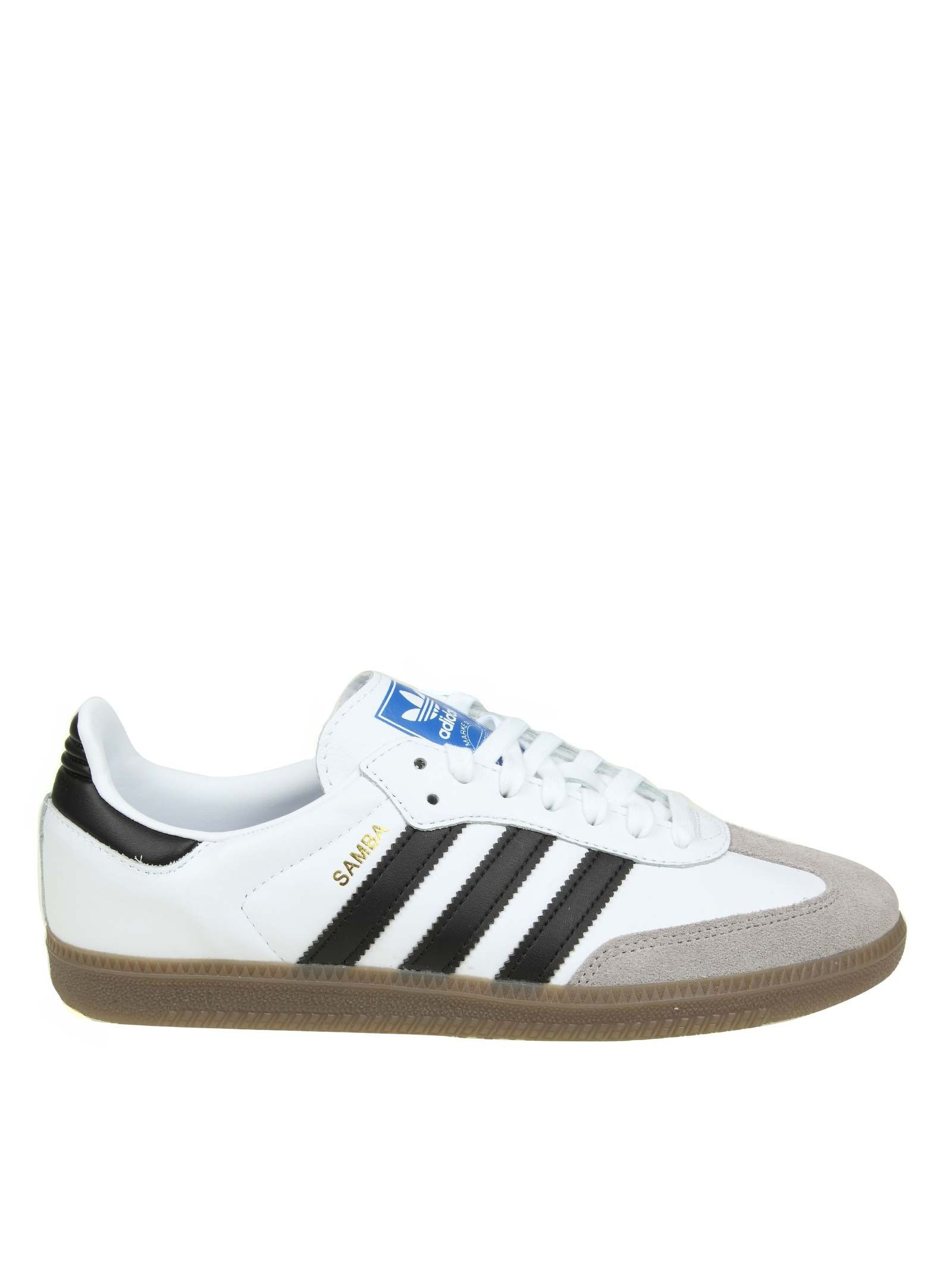 Adidas Originals Samba Og Sneakers In White Color Leather