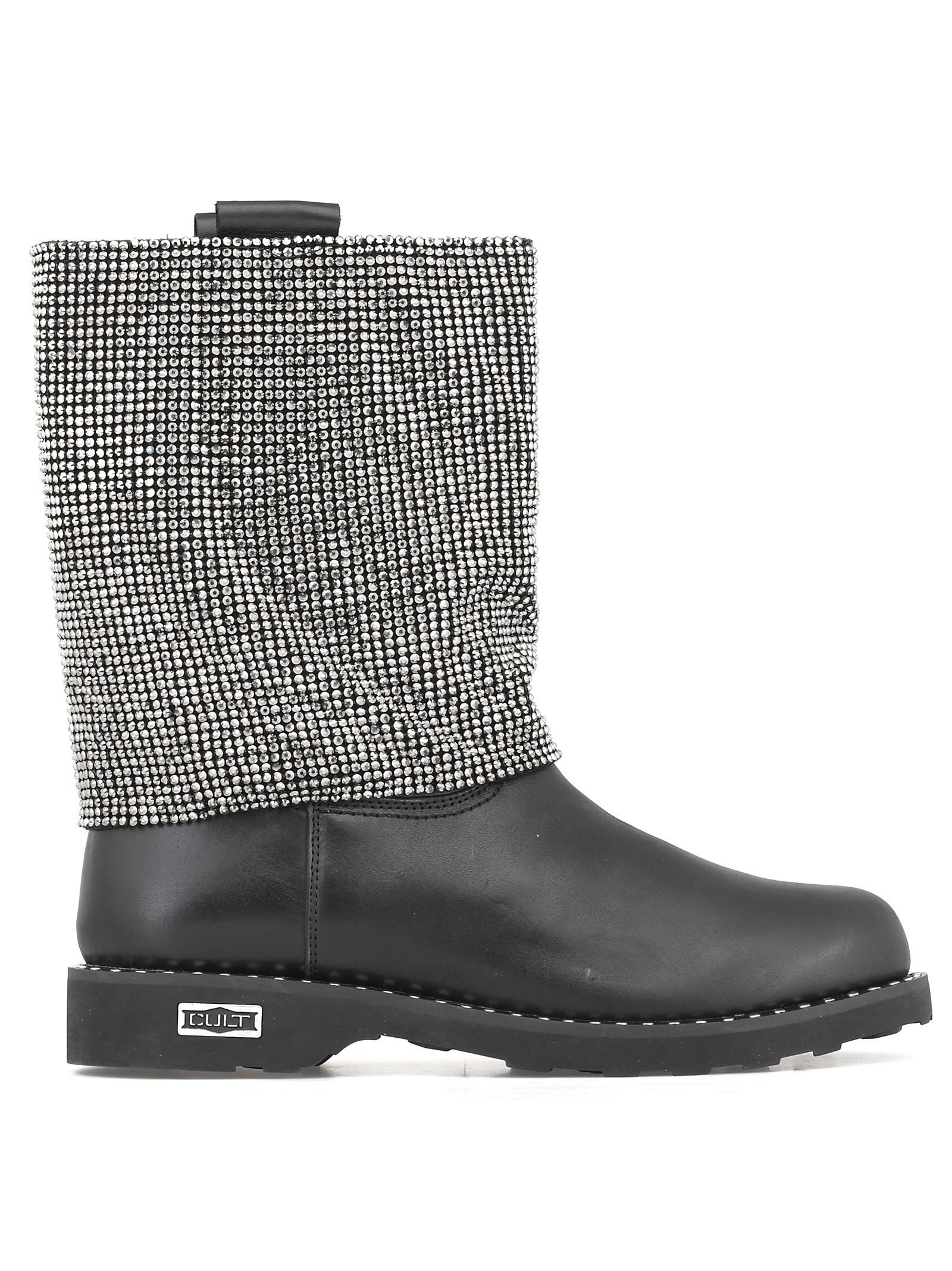 CULT Leather Boot in Black
