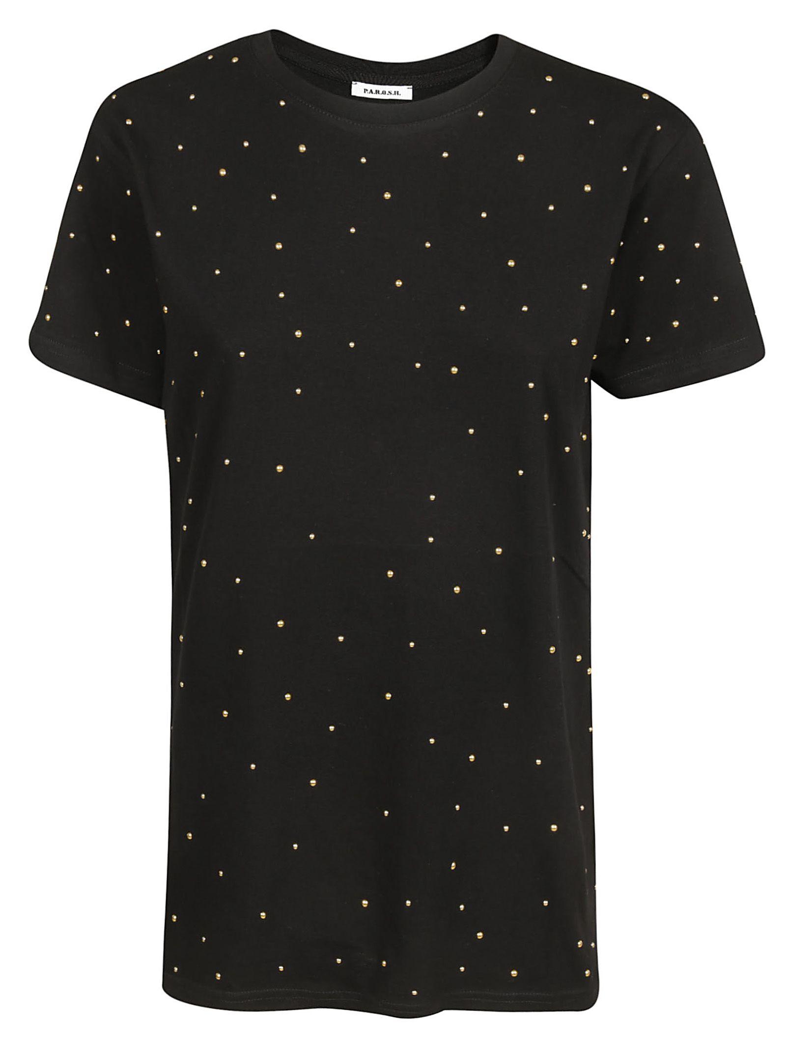 Parosh Studded T-shirt