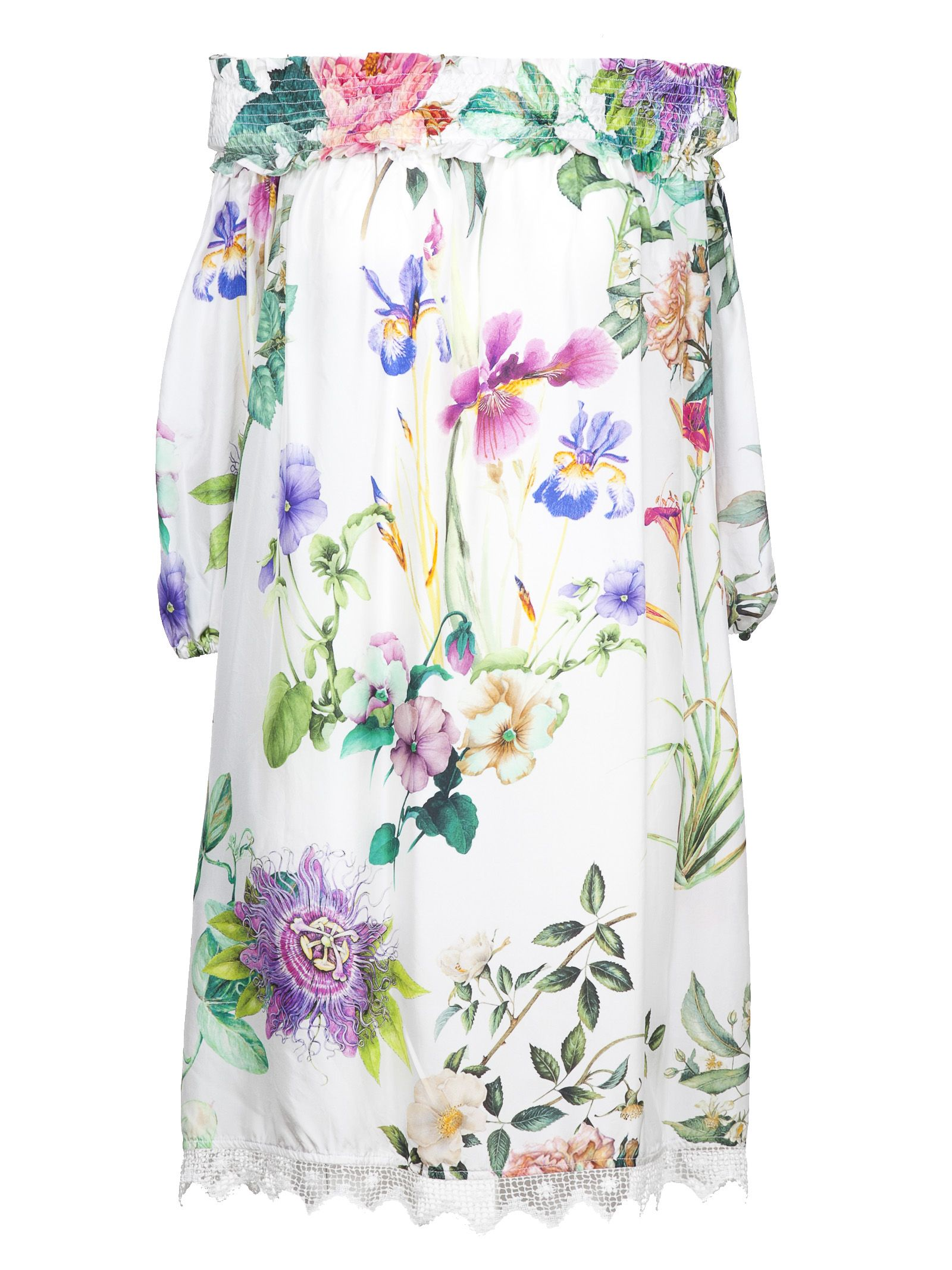 Parosh Parosh Floral Dress