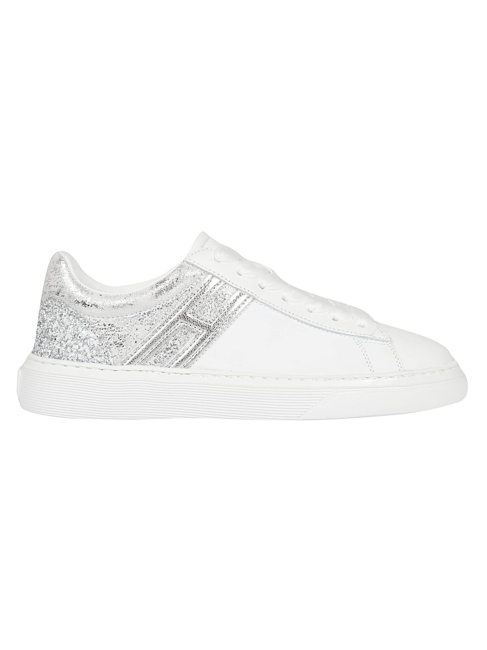 hogan -  Glittered Low-cut Sneakers
