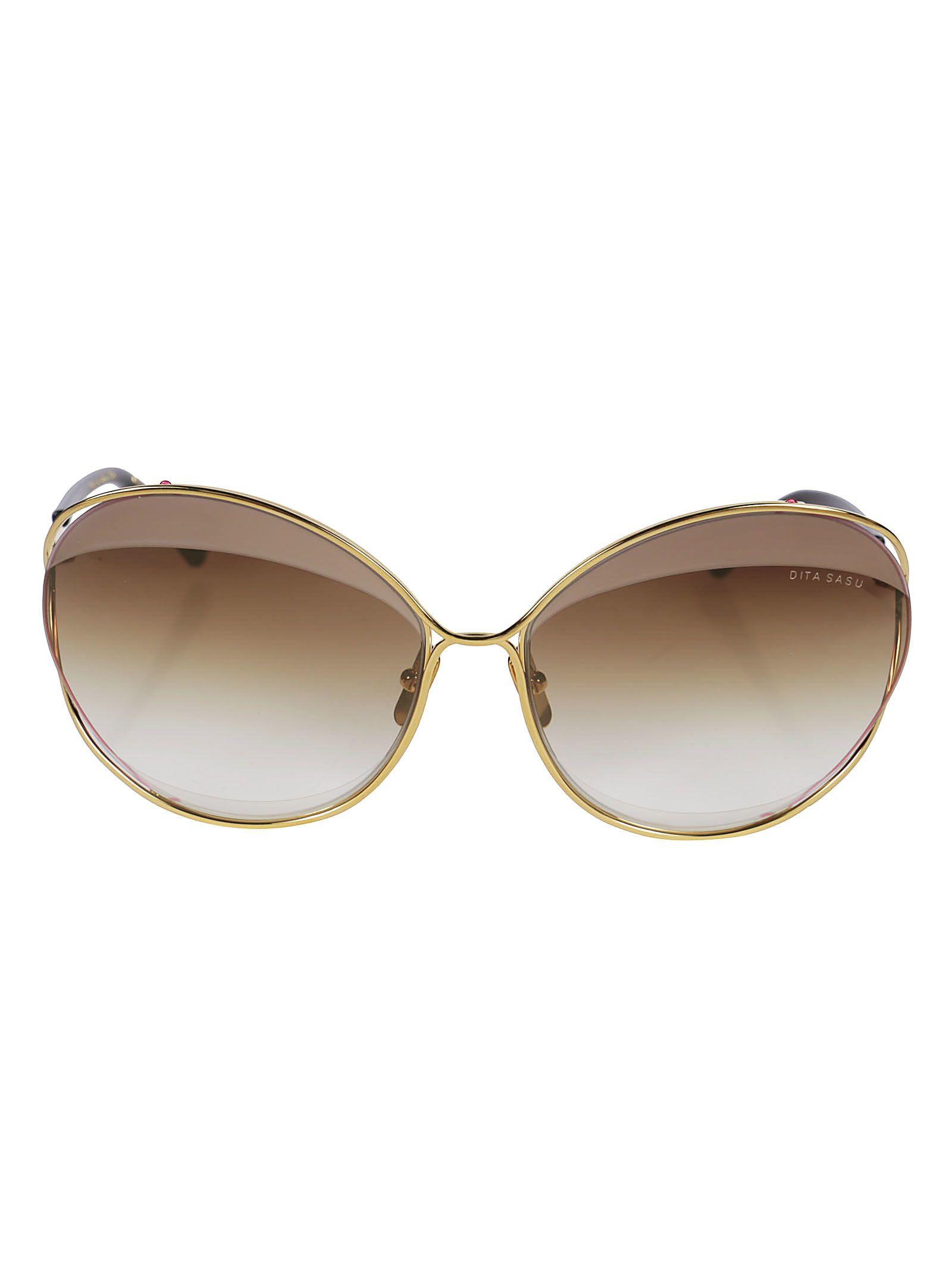 Dita Oversized Frame Sunglasses