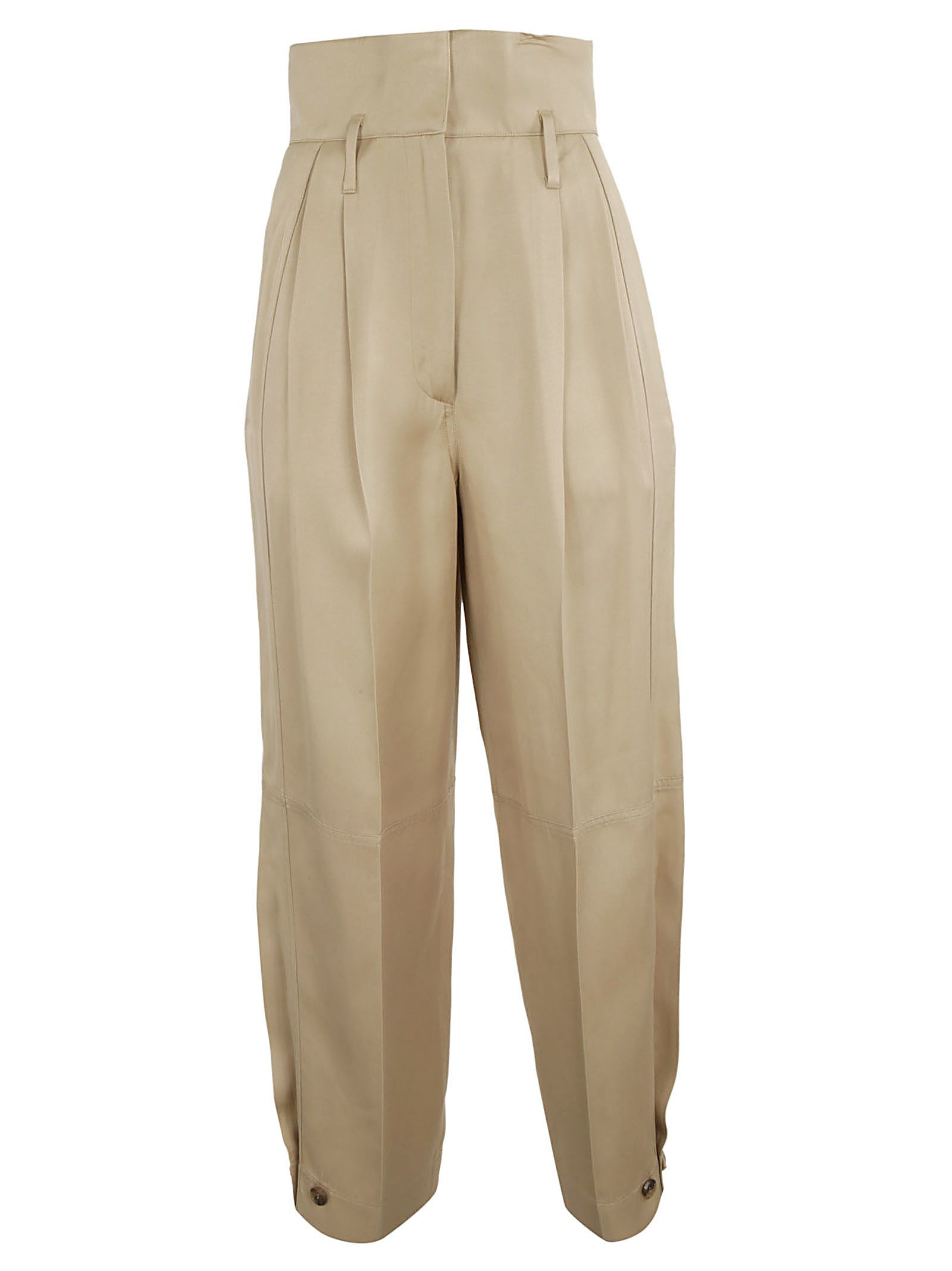 Givenchy High-waisted Military Trousers