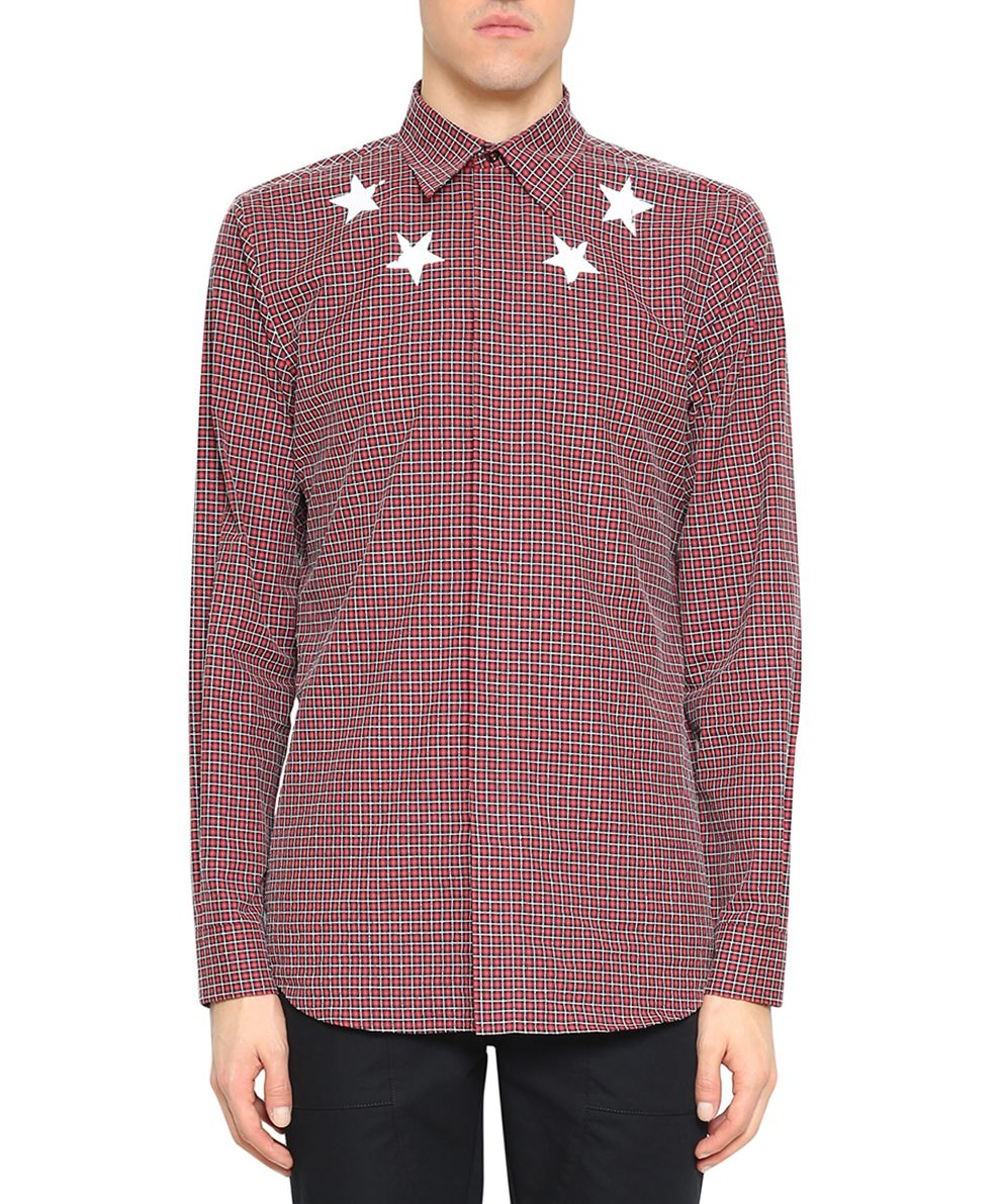 Givenchy Cotton Check Shirt