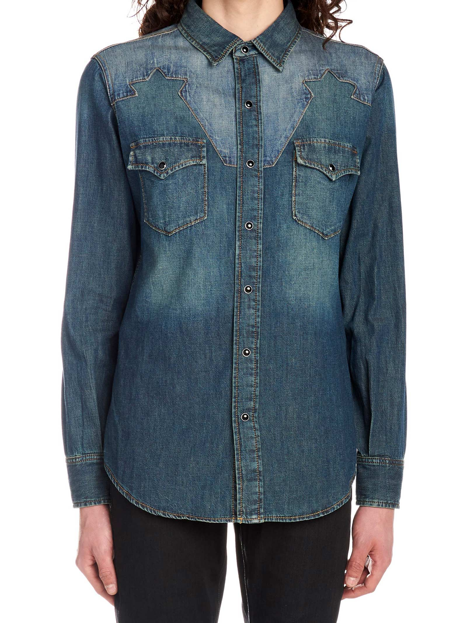 Saint Laurent 'classic Western' Shirt