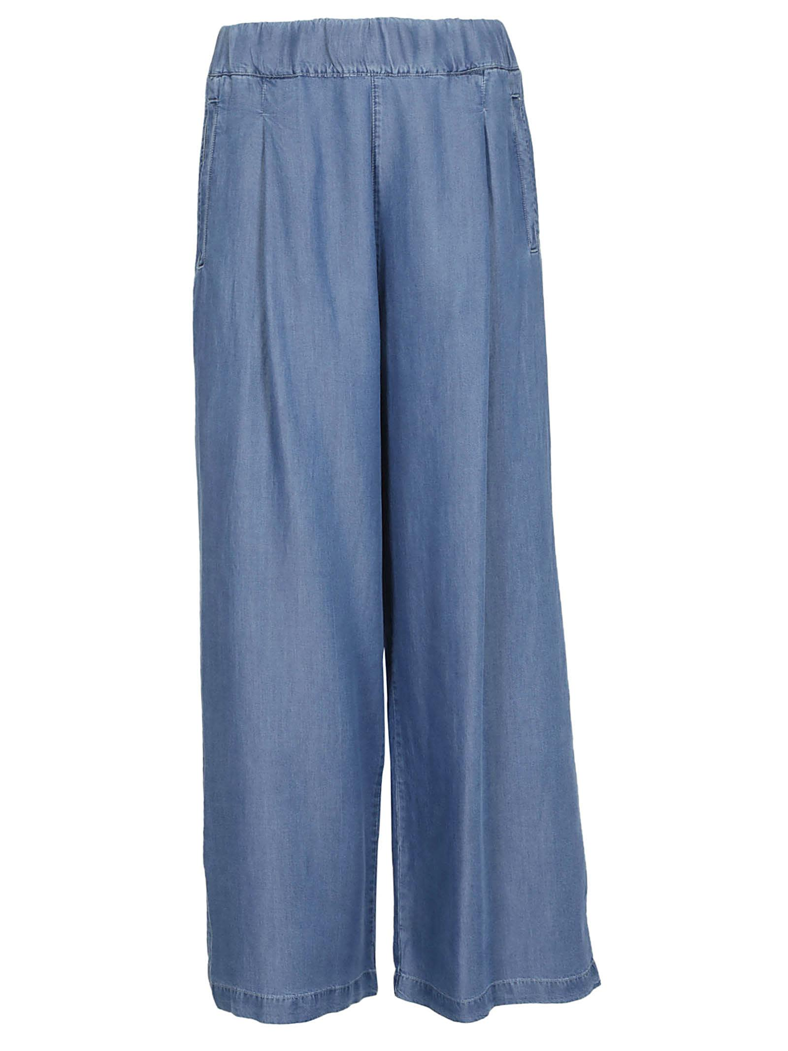 Semicouture Wide-leg Trousers