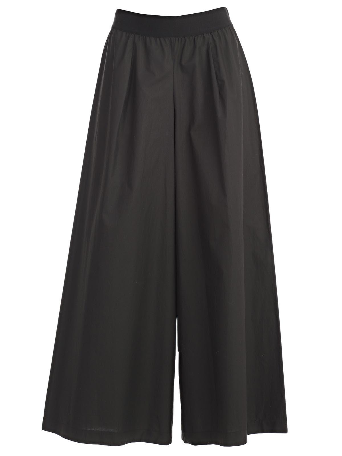 Pantalone Largo Elastico Vita