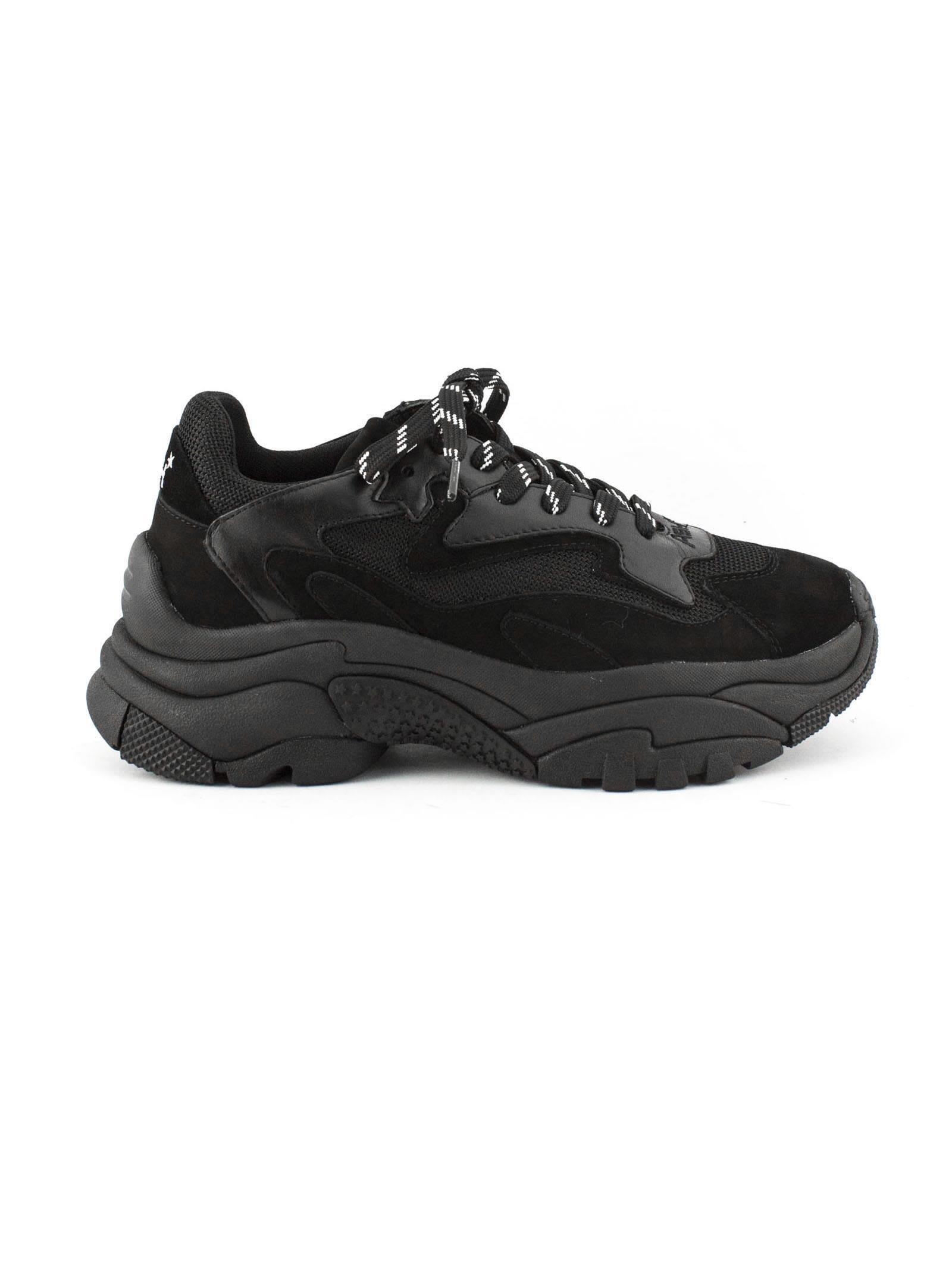 ash -  Black Nappa Addict03 Sneaker