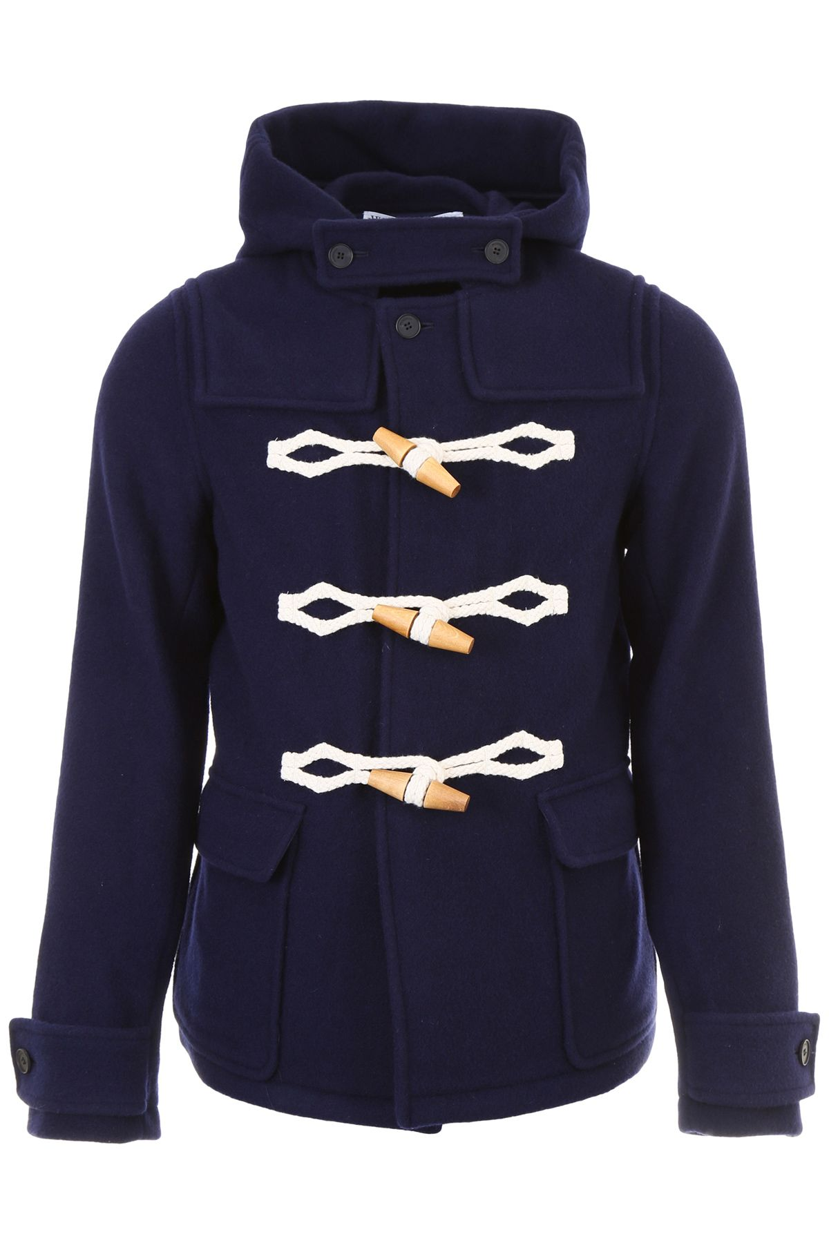 J.W. Anderson Duffle Coat With Maxi Toggles