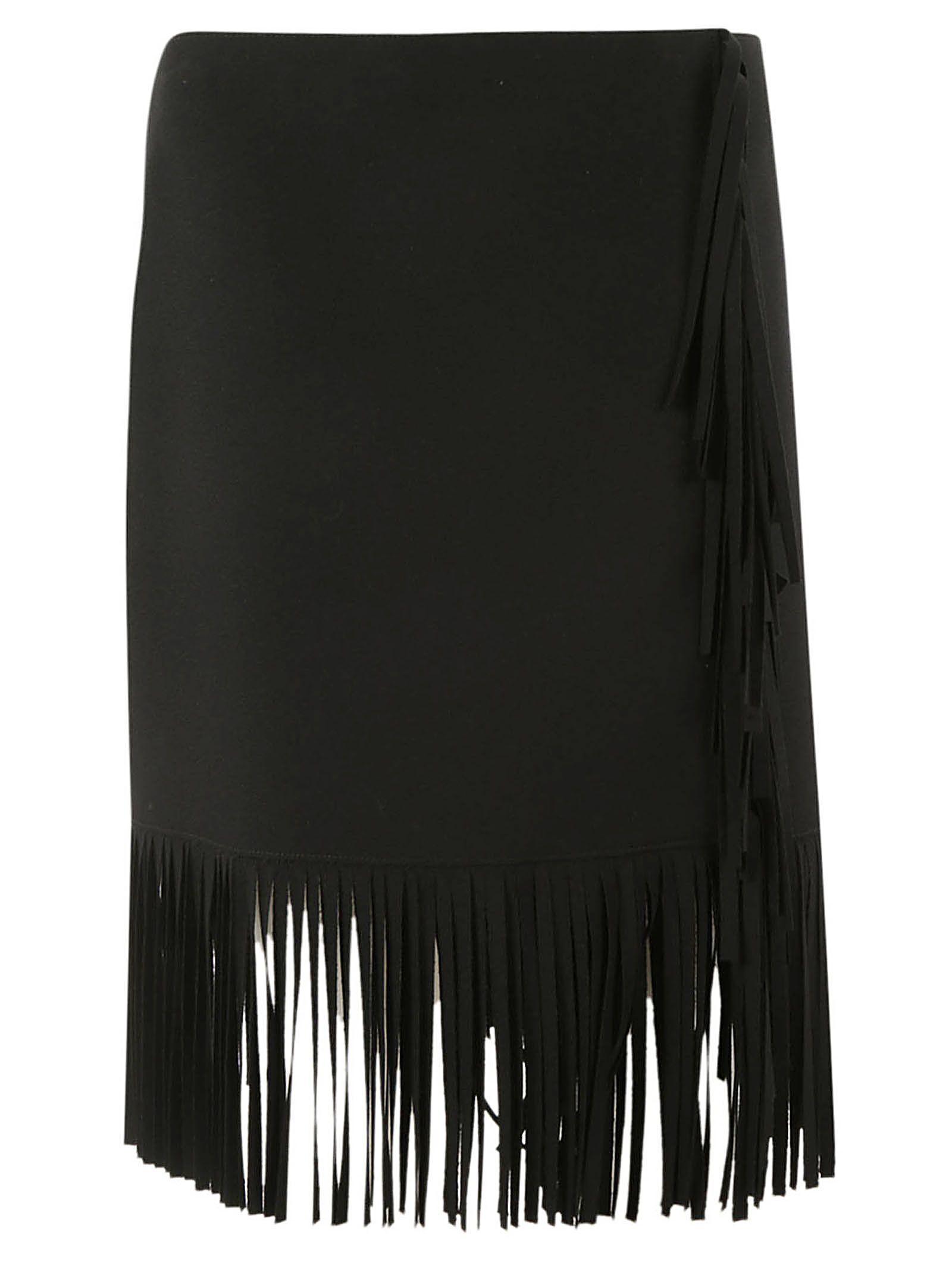 Msgm Frayed Skirt