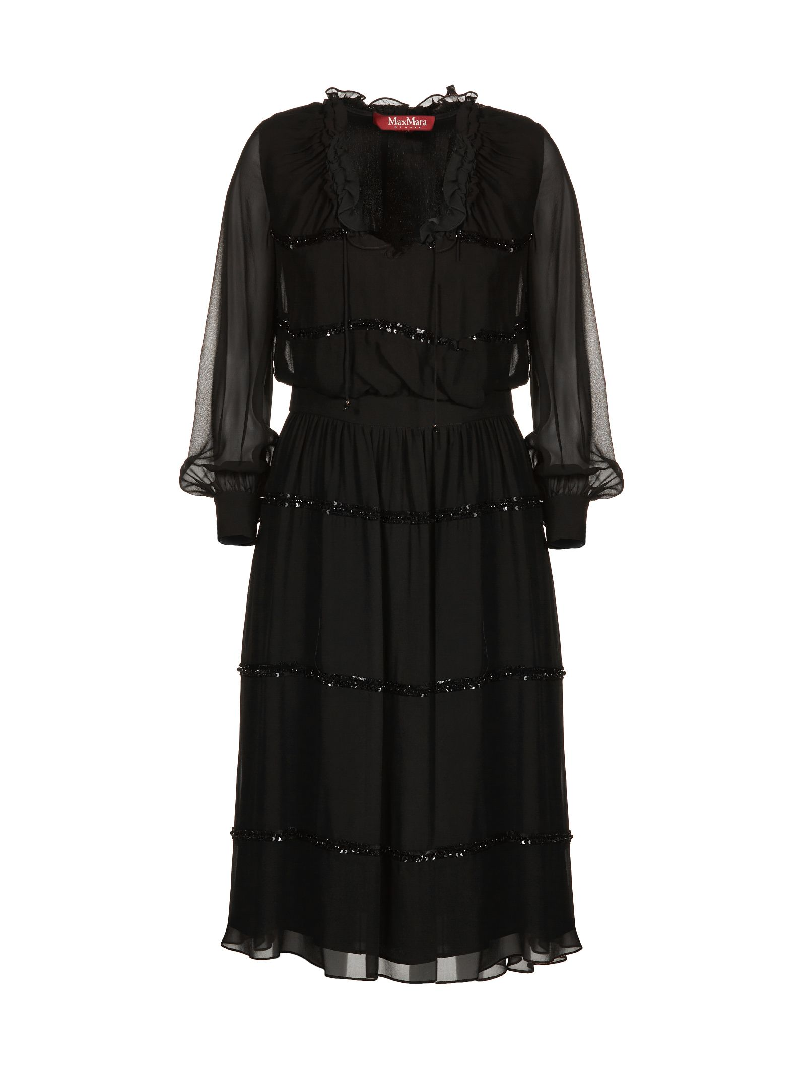 Max Mara Studio Ruffled Dress
