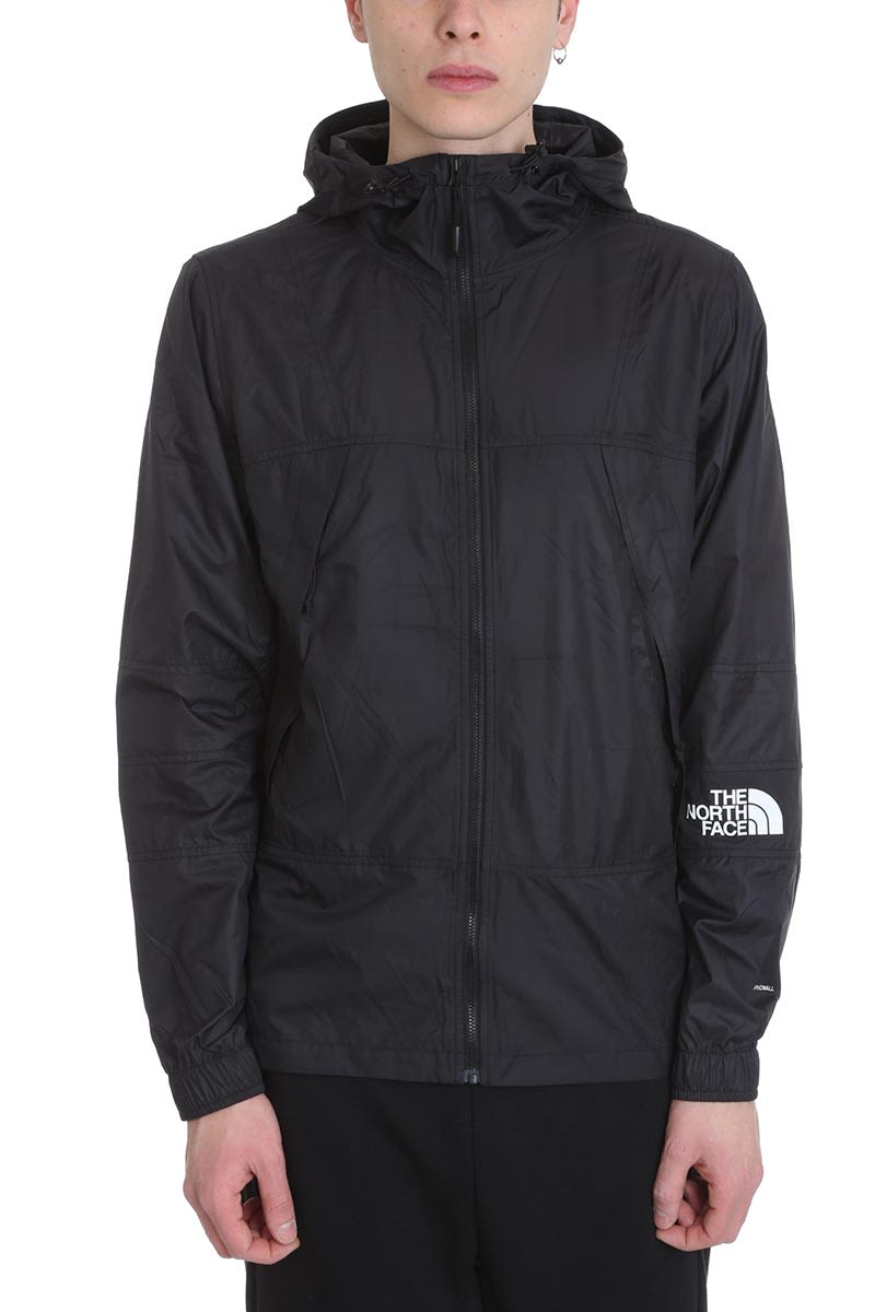 The North Face Windshell Black Technical Fabric Jacket