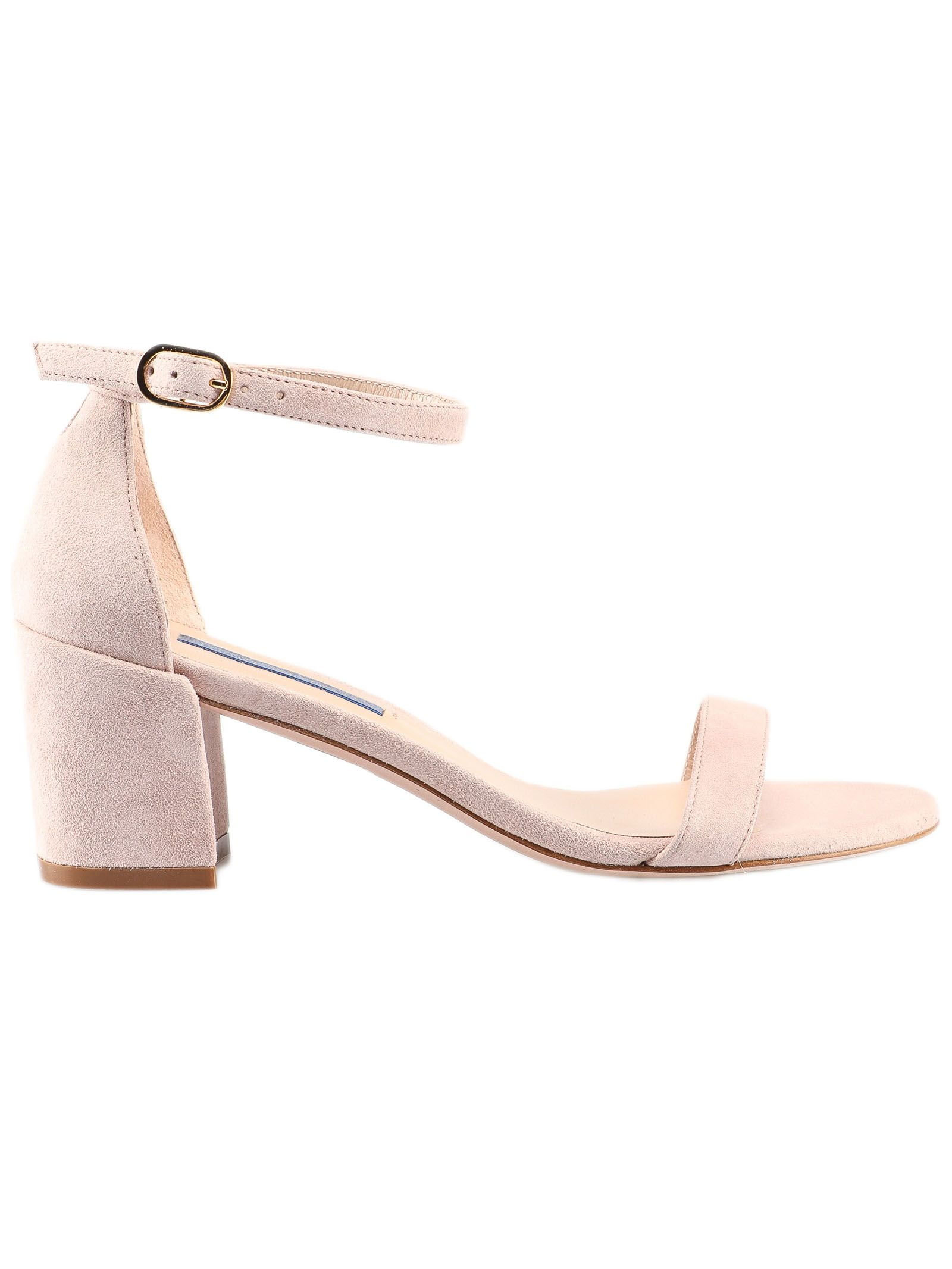 Stuart Weitzman Simple Ankle Strapped Sandals