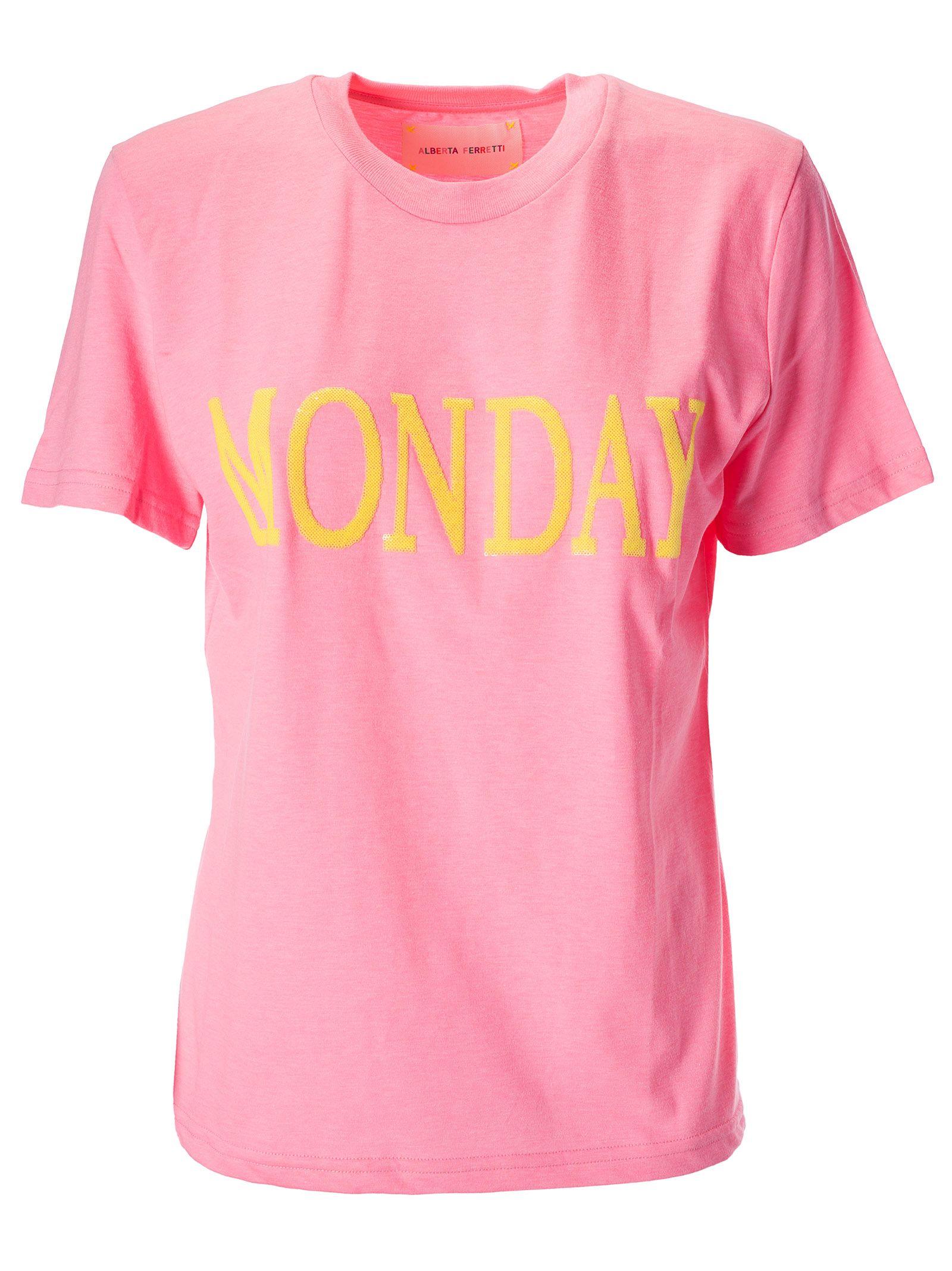Alberta Ferretti T-shirts MONDAY T-SHIRT