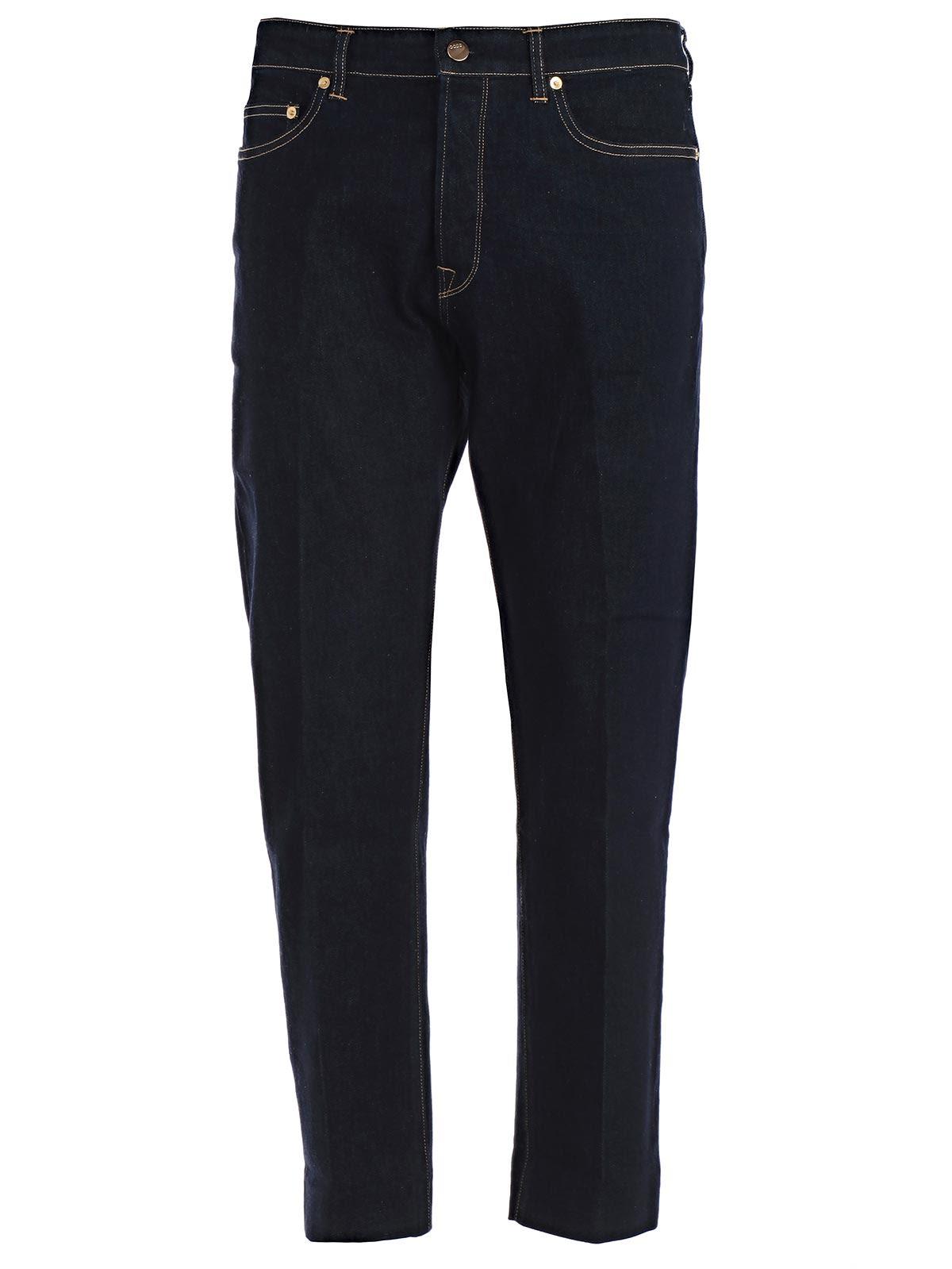 Golden Goose Deluxe Brand Lit Straight Crop Jeans