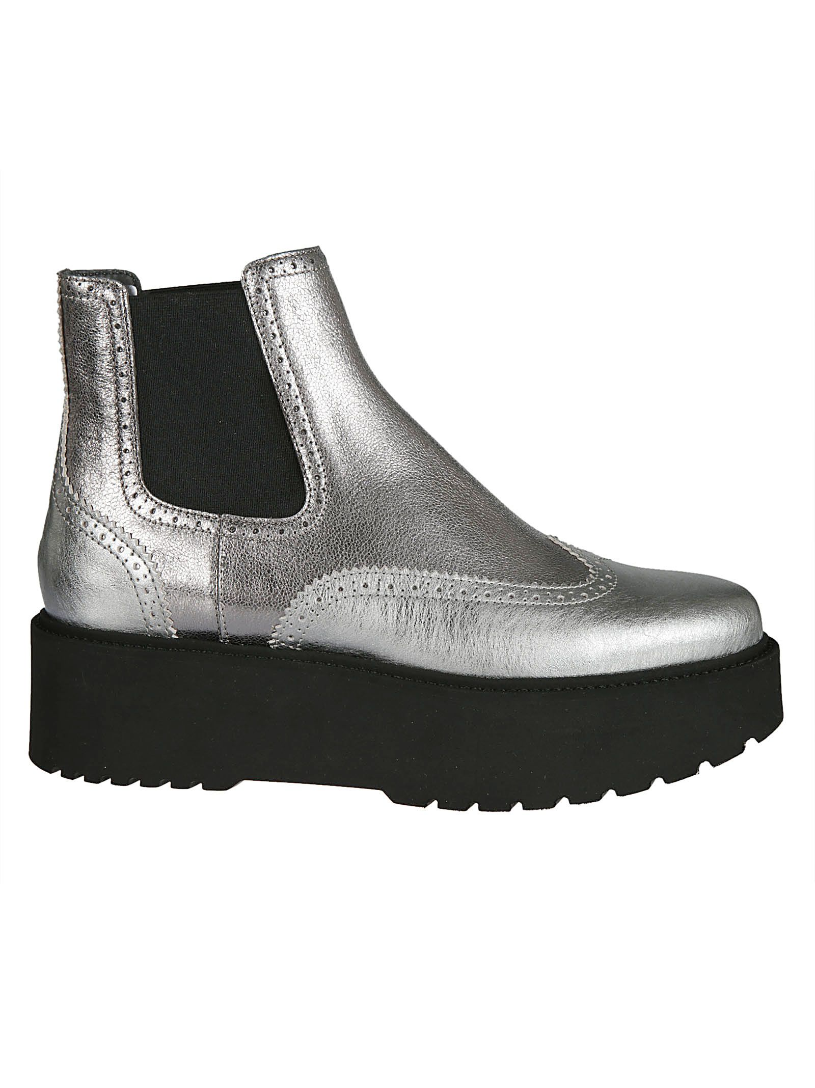 hogan -  High-cut Slip-on Monk Shoes