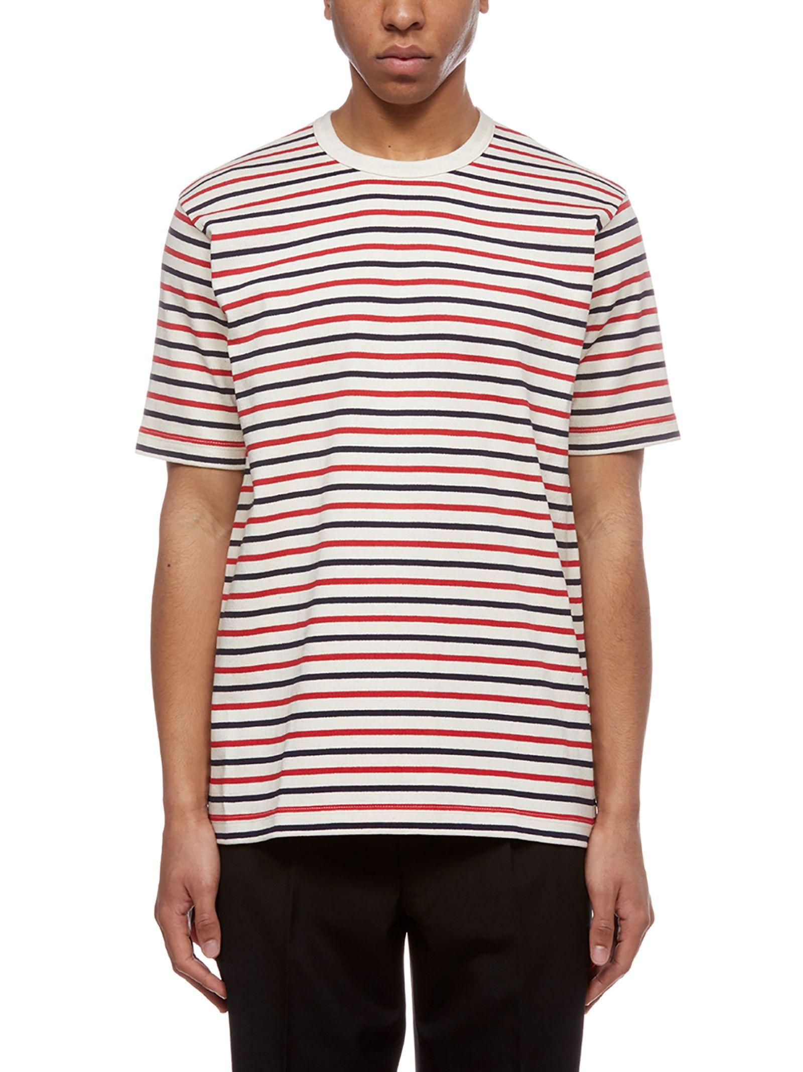 Junya Watanabe Comme Des Garçons Striped T-shirt