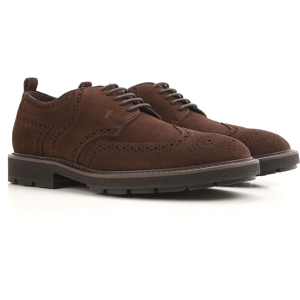 Tod's Suede Derby Brogues