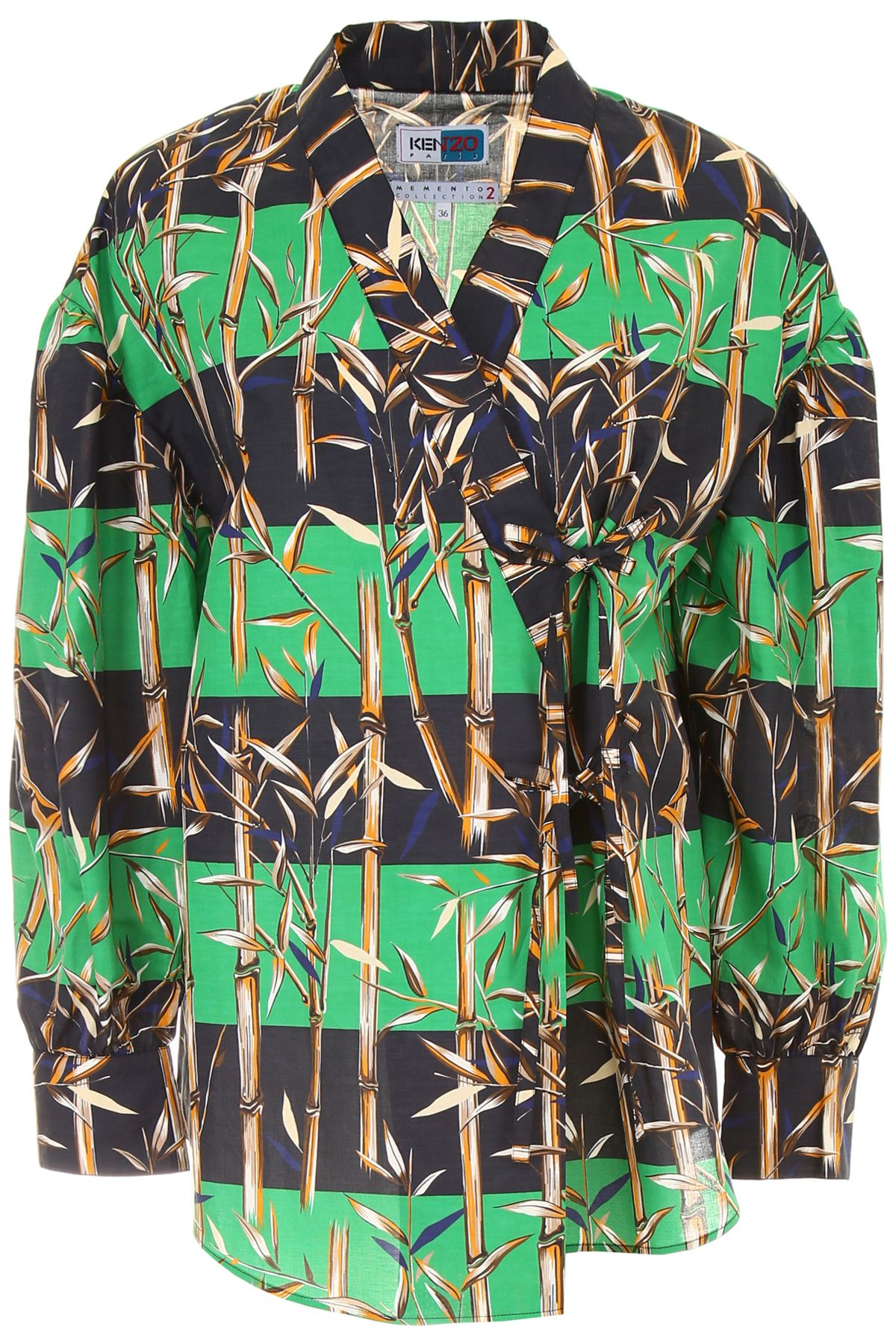 Kenzo Memento Kimono Shirt