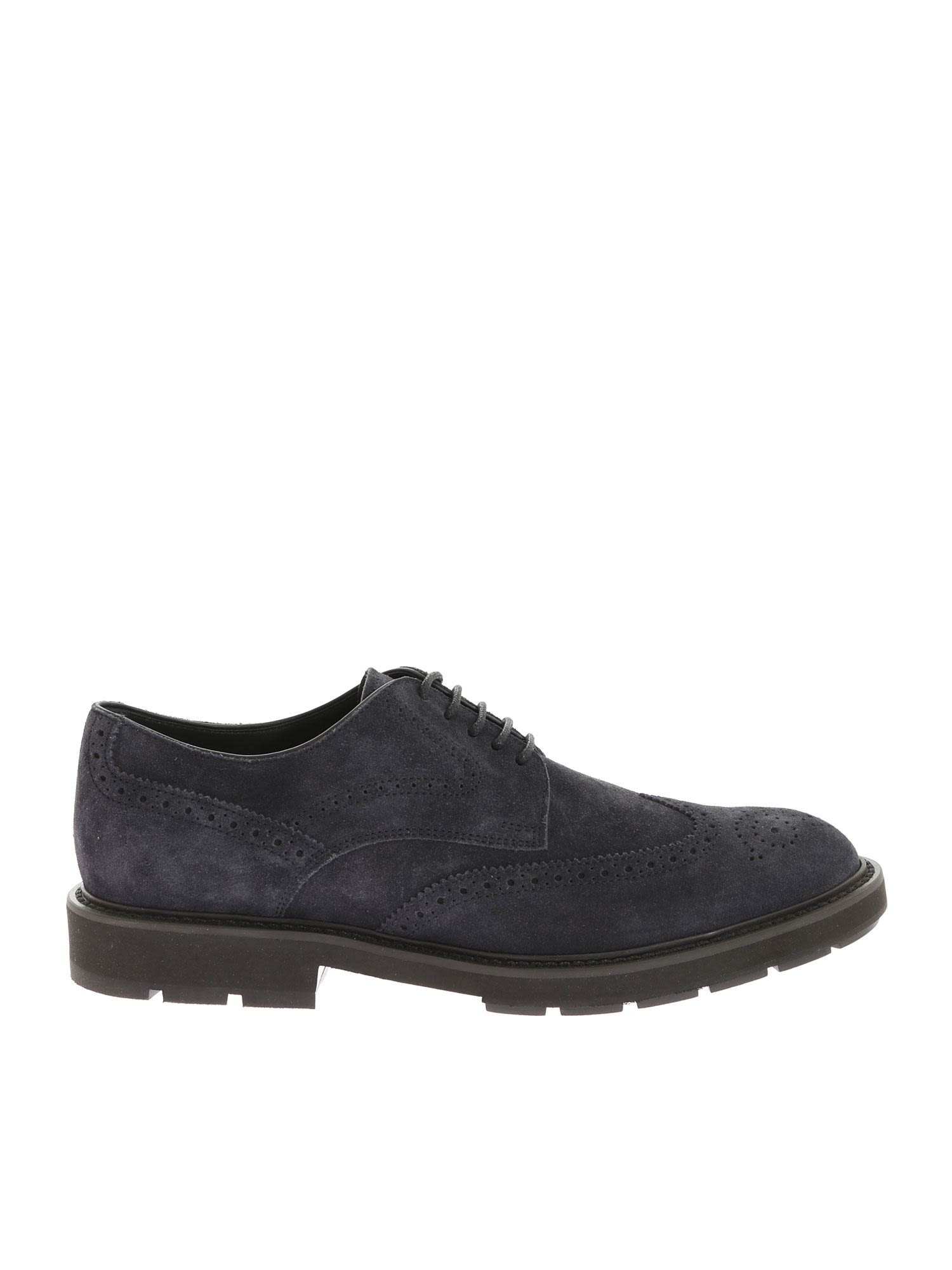Tod's Punch Detail Derby Shoes